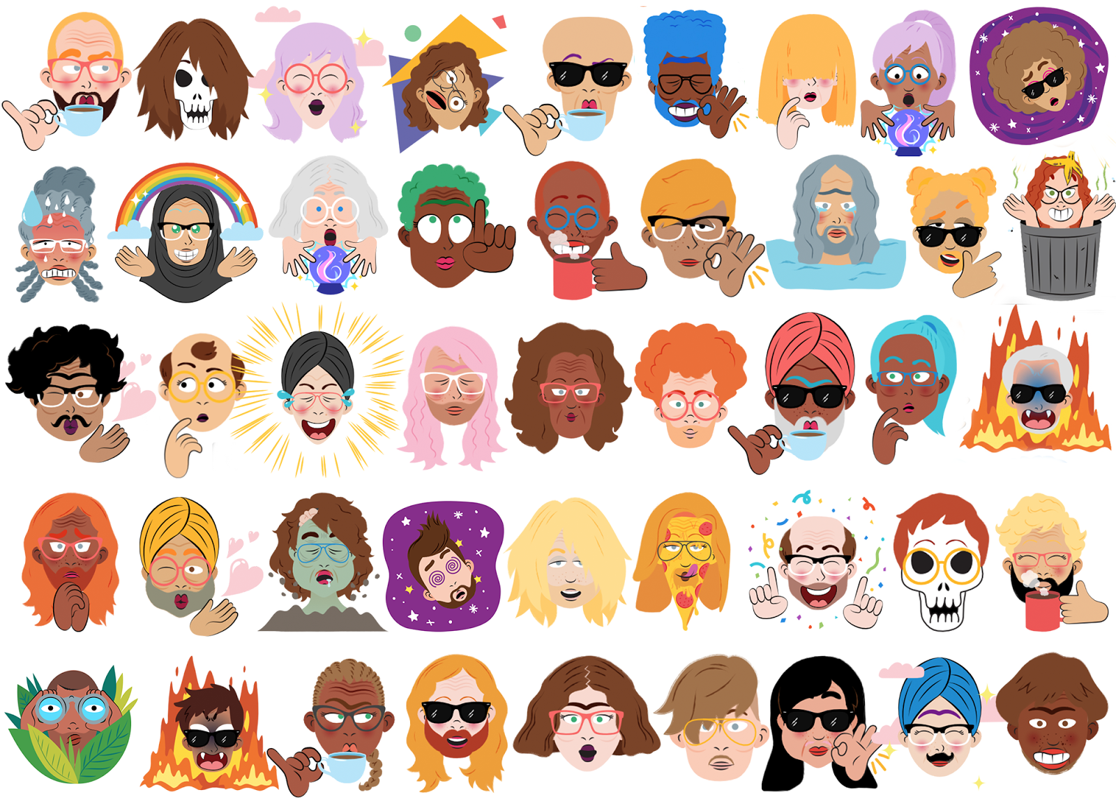 google allo can now turn your selfies into cartoon stickers the