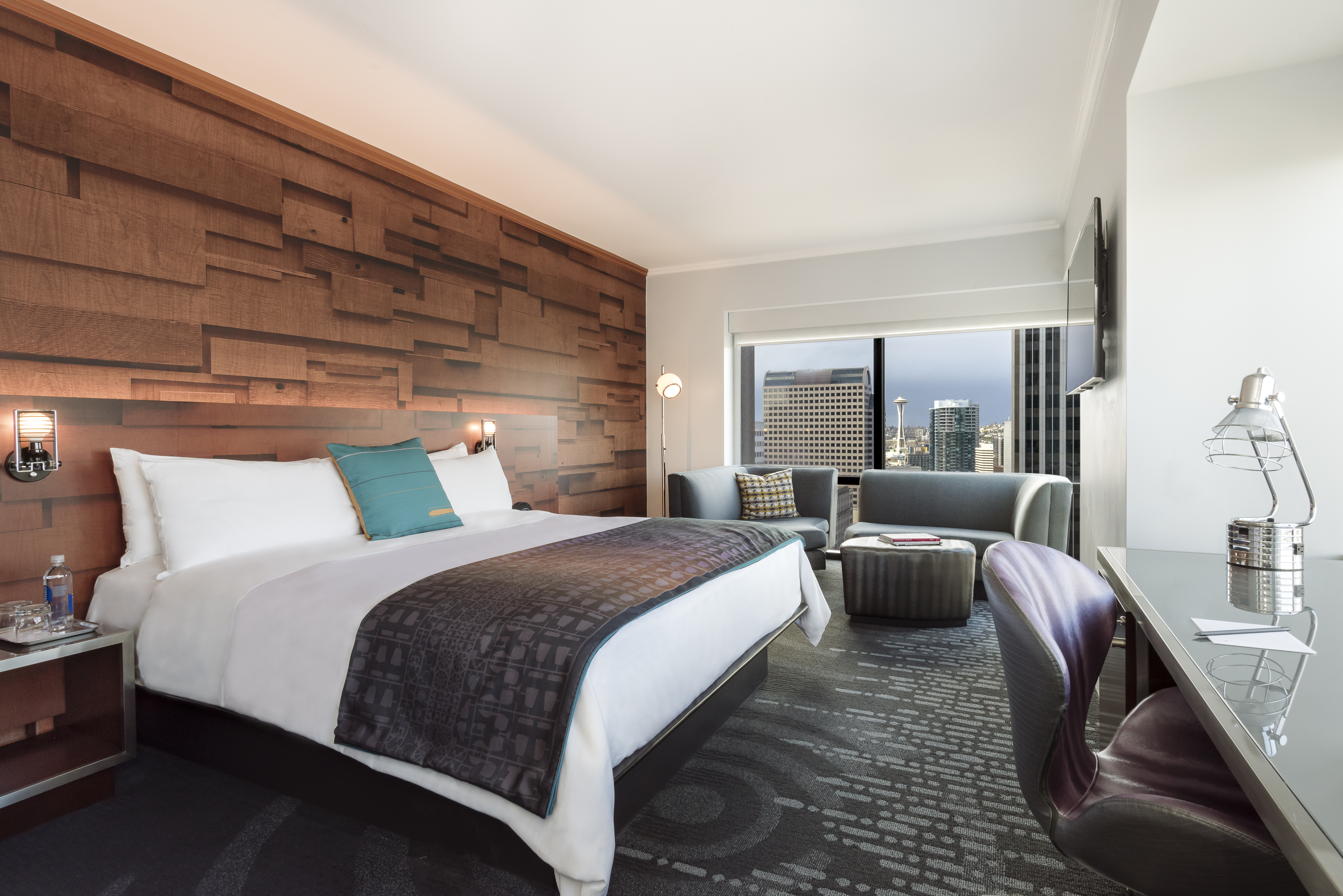 Take a peek at W Seattle's newly-redesigned rooms