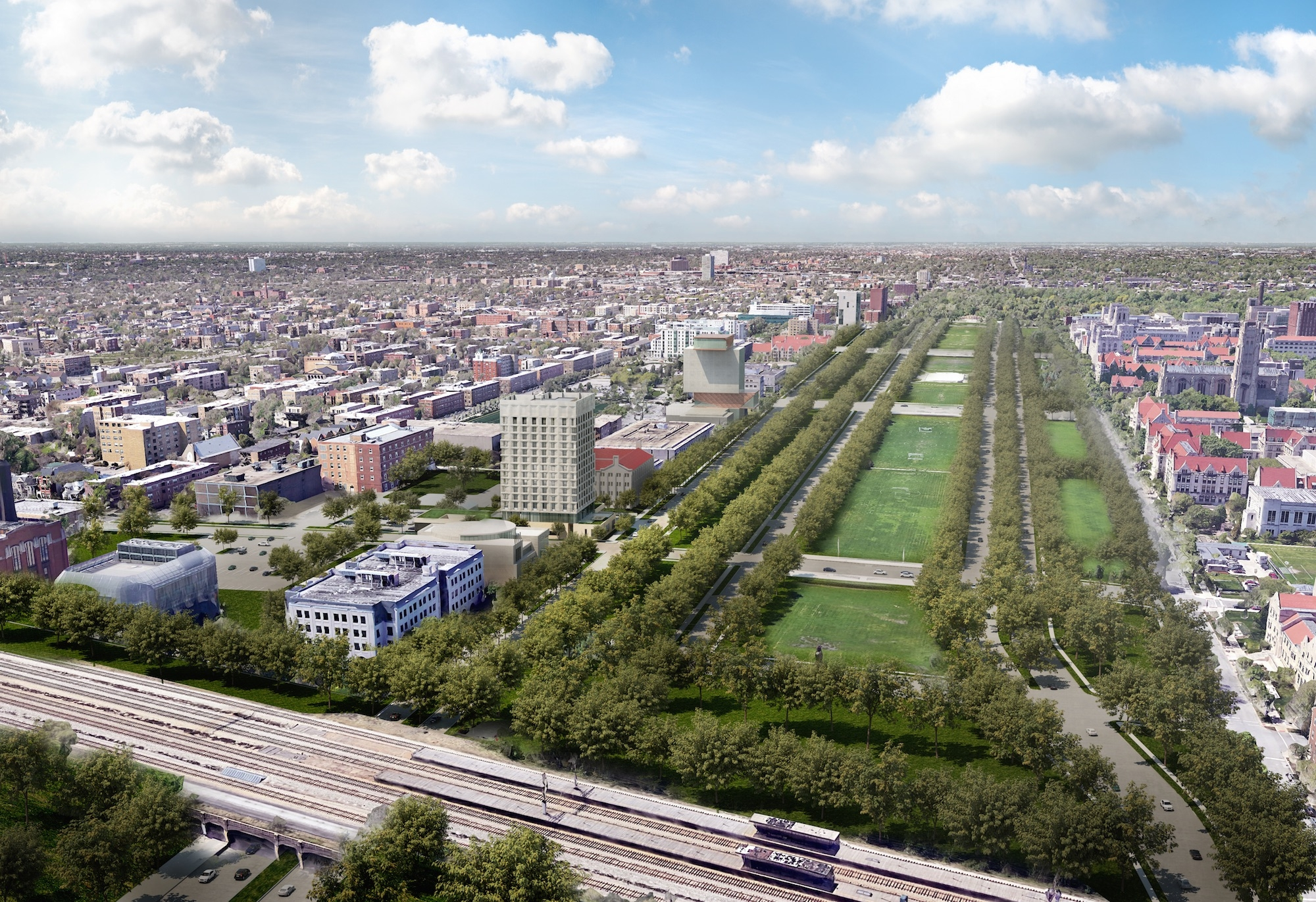 Developer Unveils Plan For  Room Hotel Near Obama Library