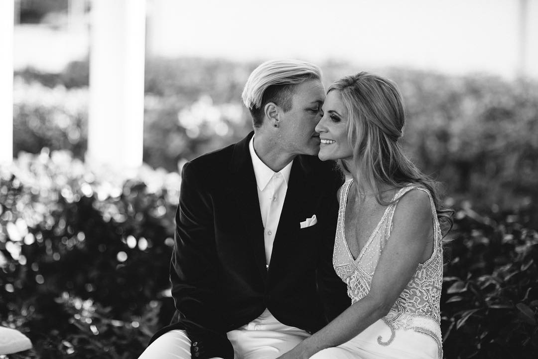 Abby Wambach Wedding Images Galleries