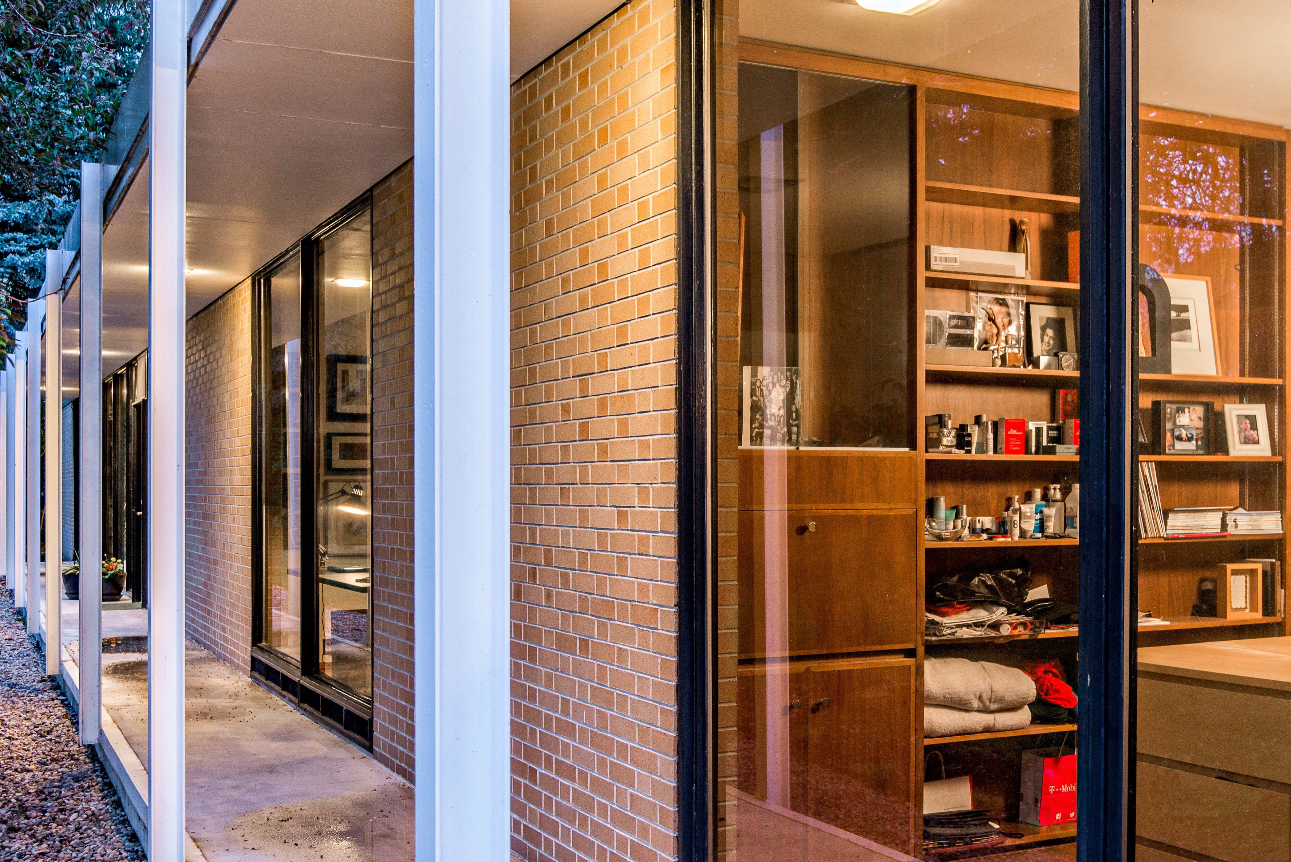 Midcentury home architects own glassbox gem asks 825K Curbed