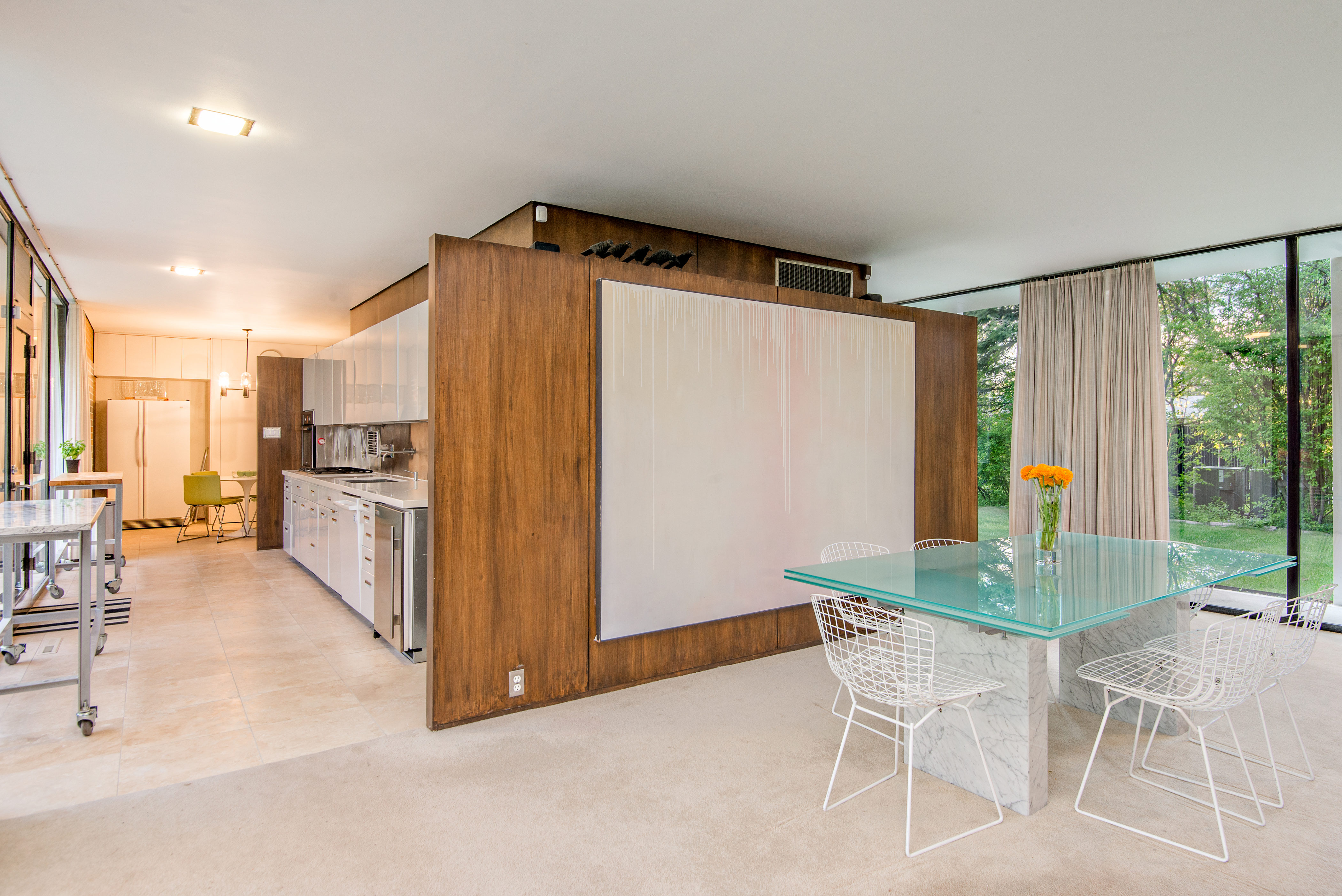 ... Midcentury Home Architect S Own Glass Box Gem Asks 825k Holladay House  Bed And Breakfast In Orange Virginia ...