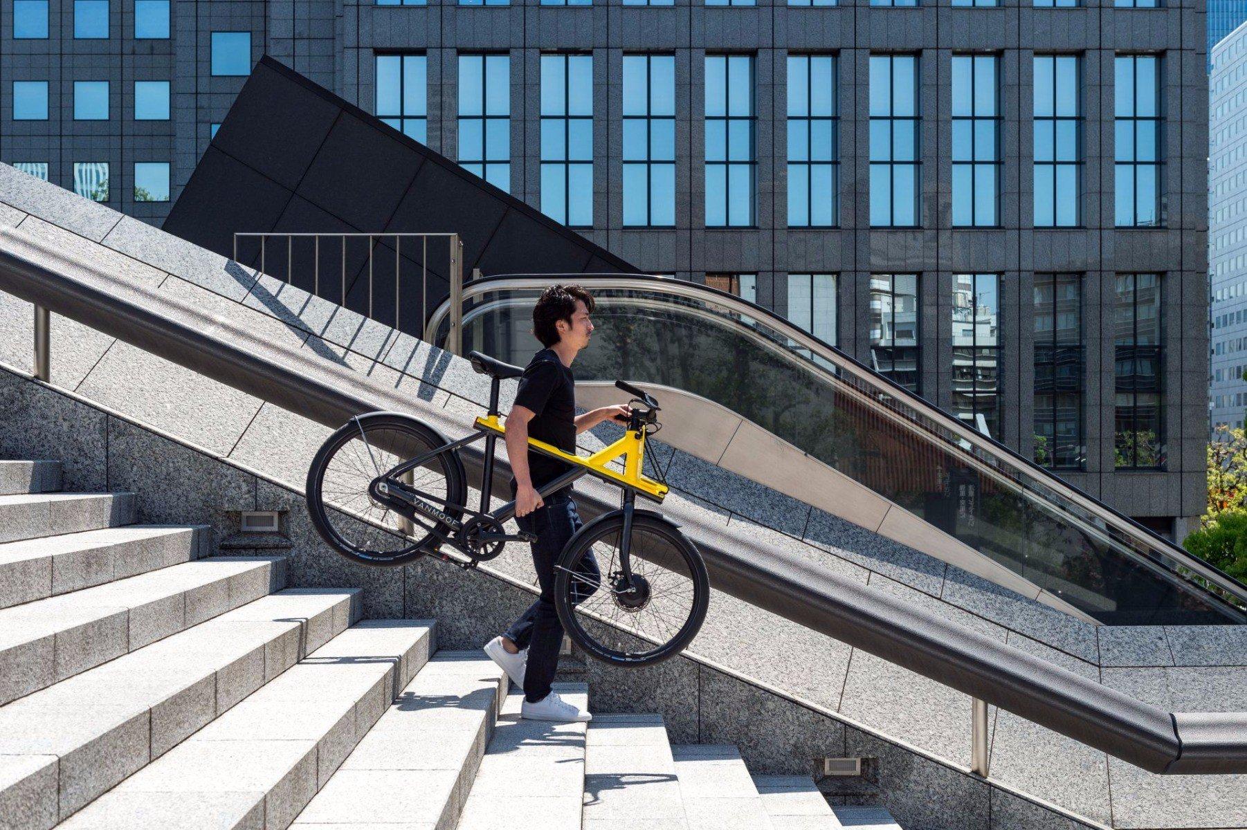 Vanmoof S Latest Electric Bike Takes On Hellish Tokyo
