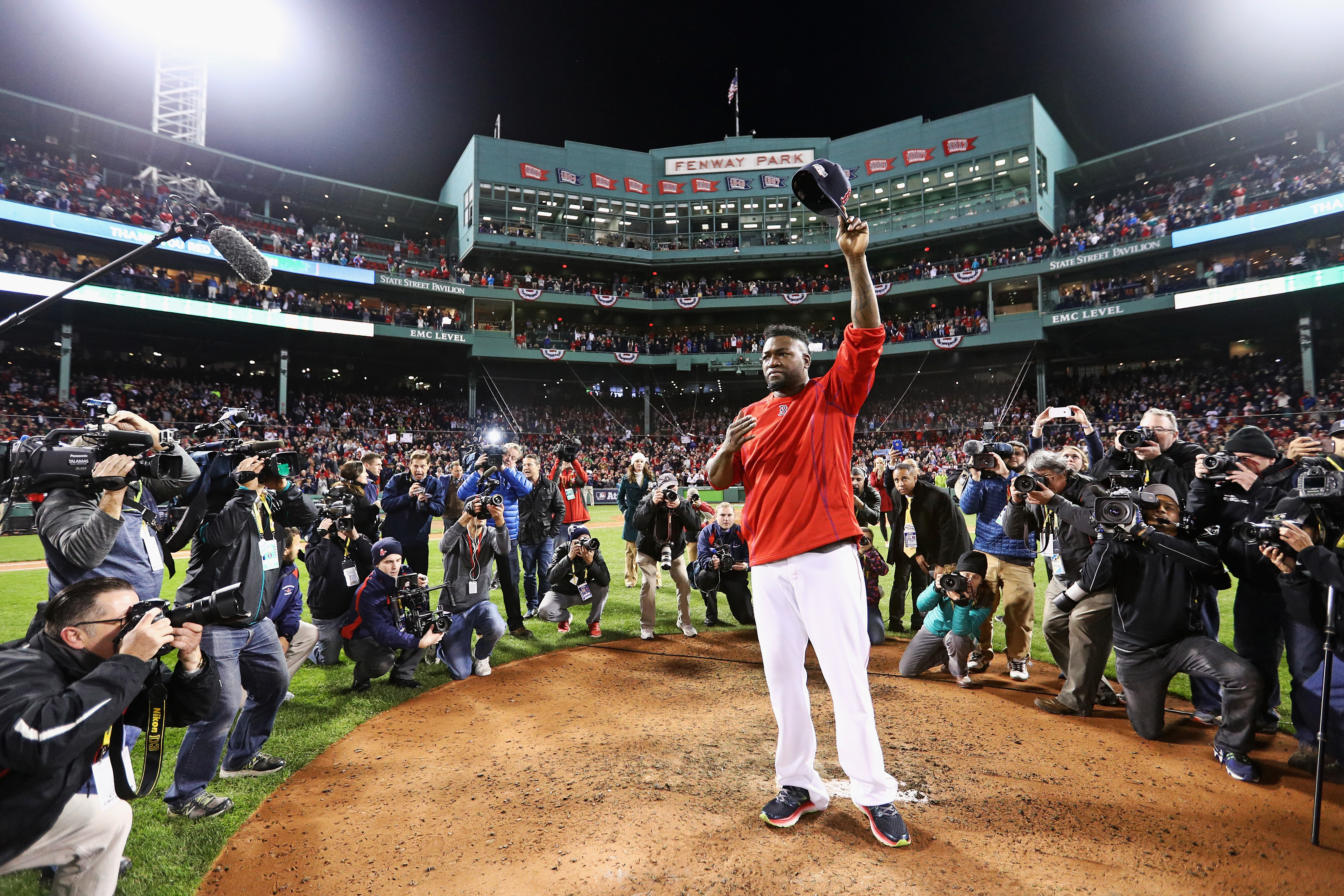 David Ortiz doesnt miss baseball because hes having too much fun