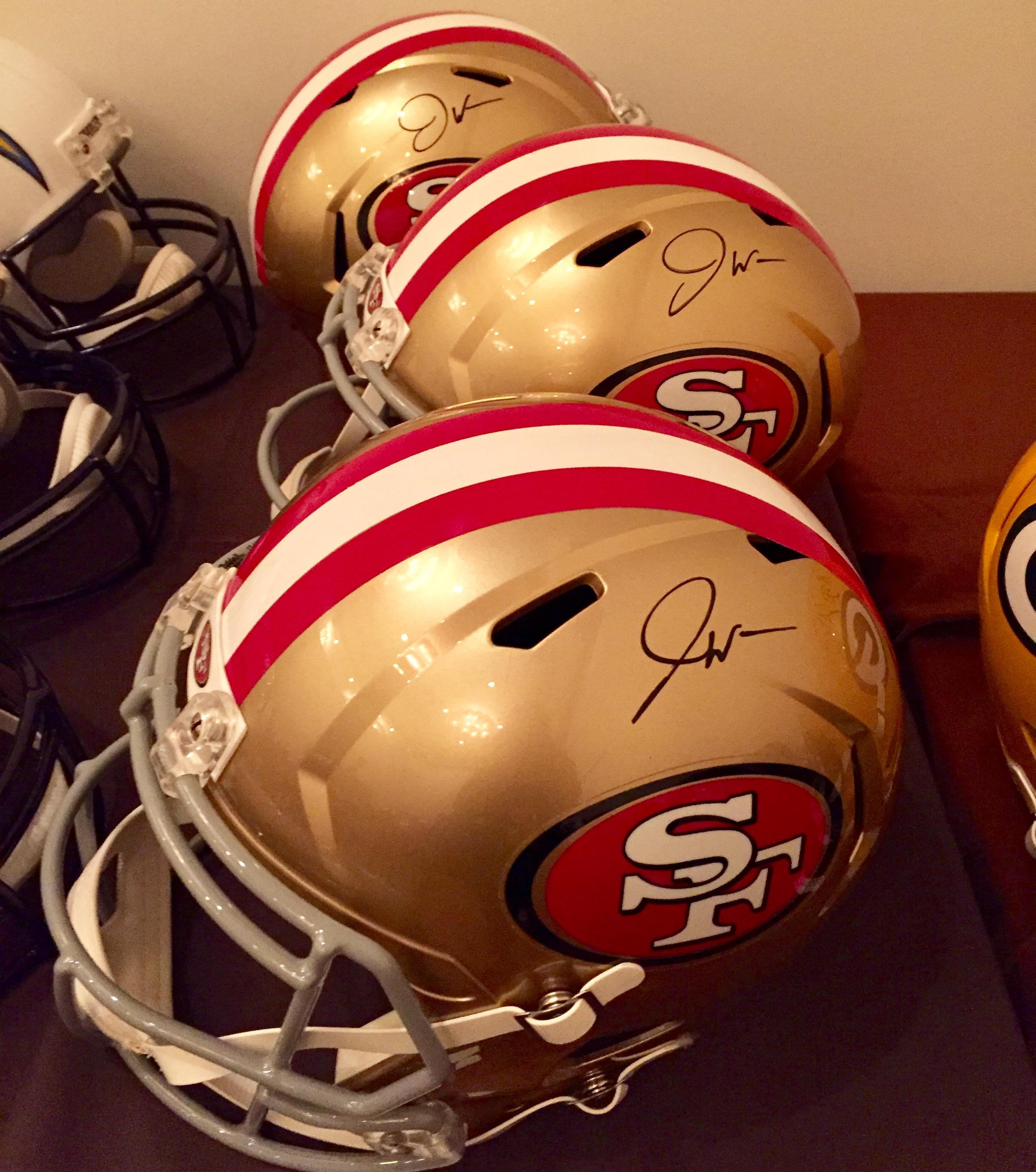 49ers C.J. Beathard And Joe Williams Were Honored To
