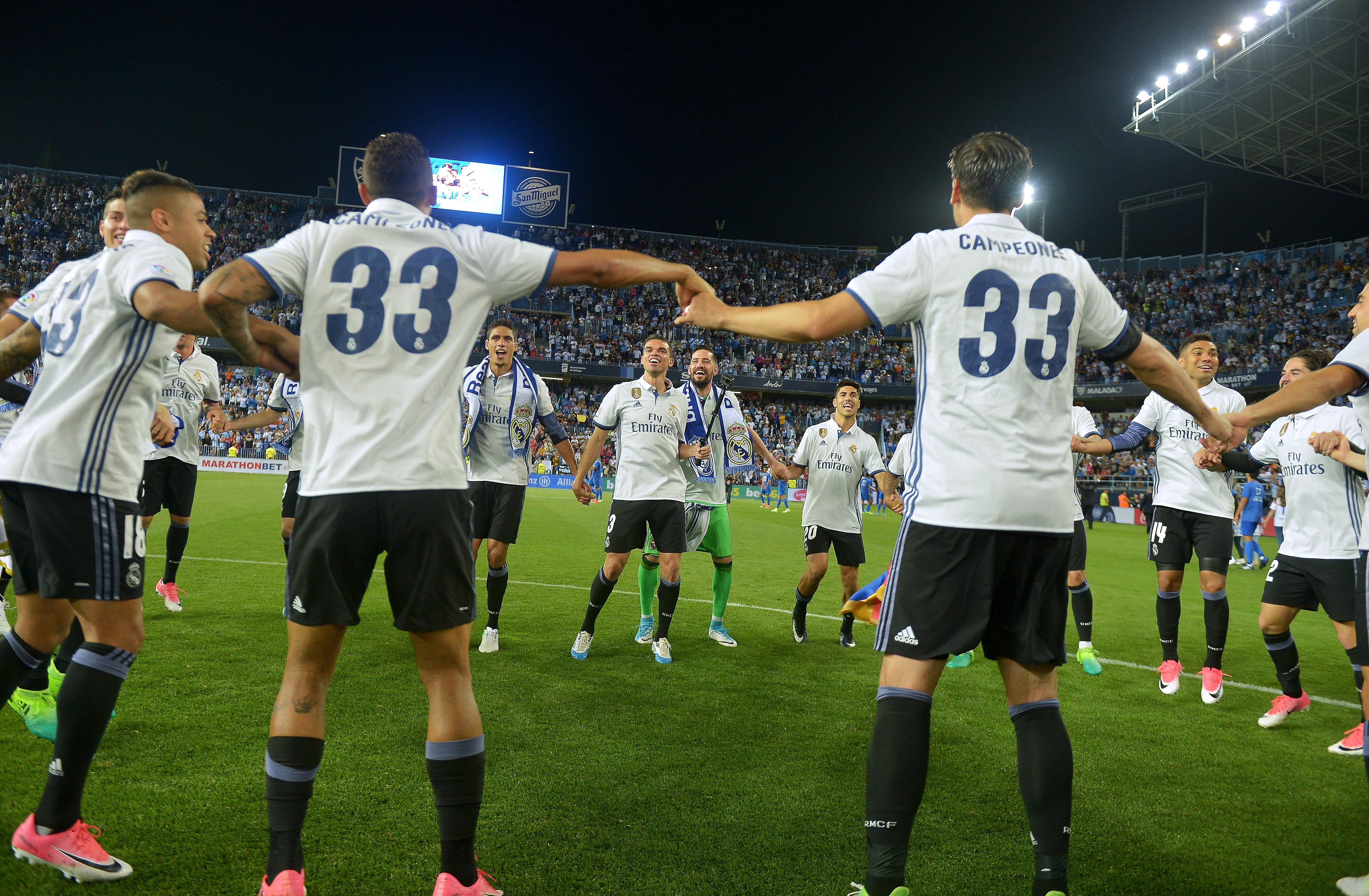 La Liga: GALLERY: Best Moments Of Real Madrid's La Liga Celebration