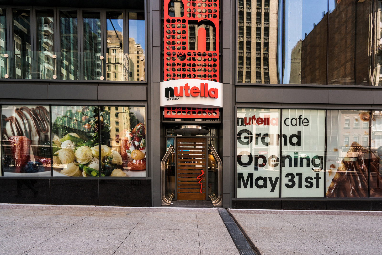 Inside America S First Nutella Cafe Opening Next Week In