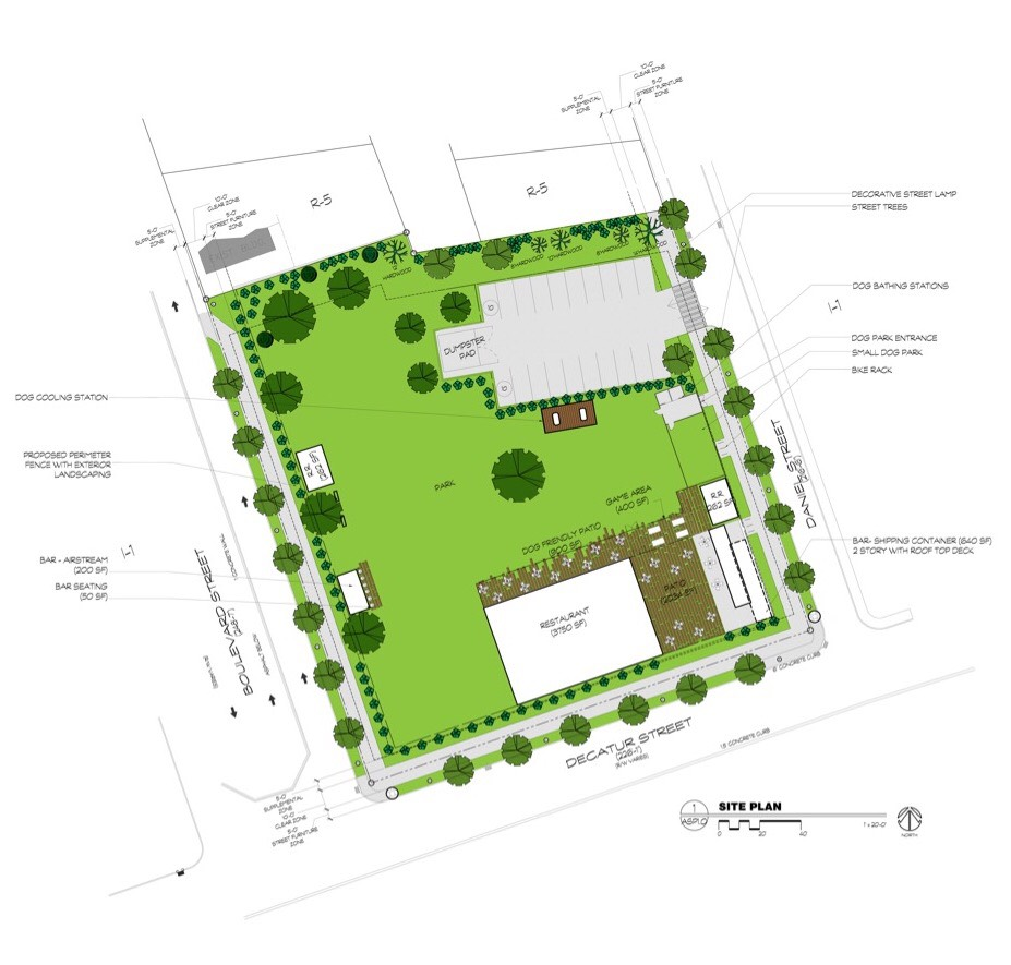 Old fourth ward dog park meets beer garden sniffs autumn for Planner site