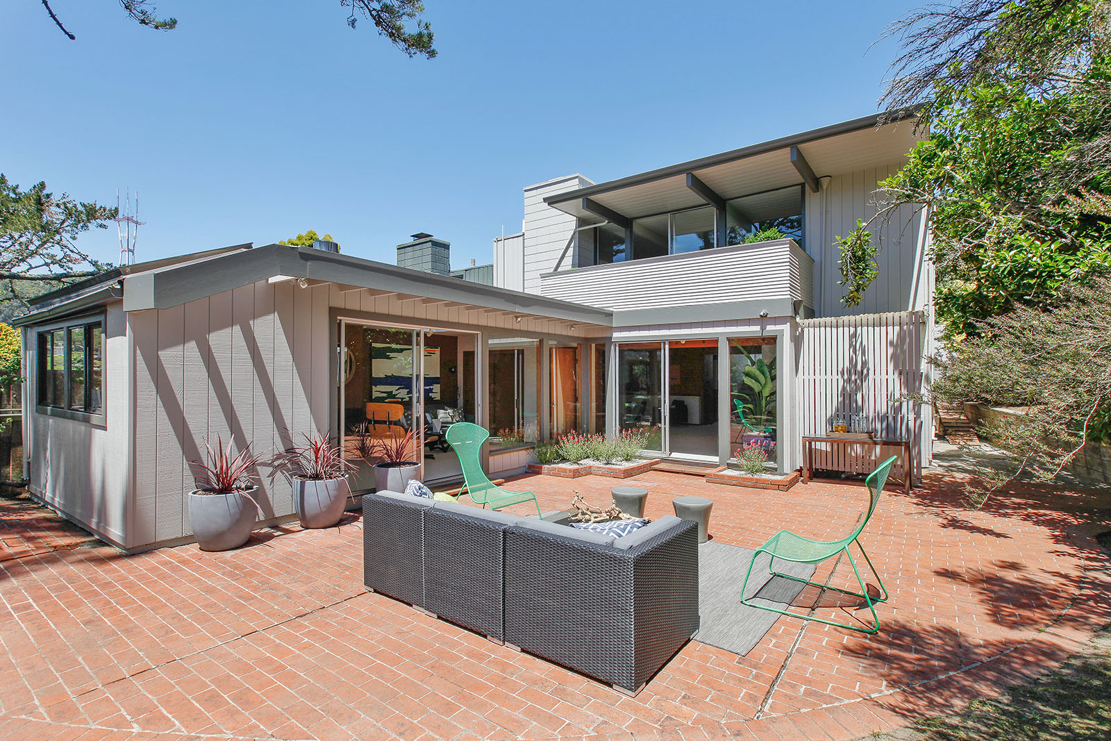 Two Story Eichler In Diamond Heights Asks Million