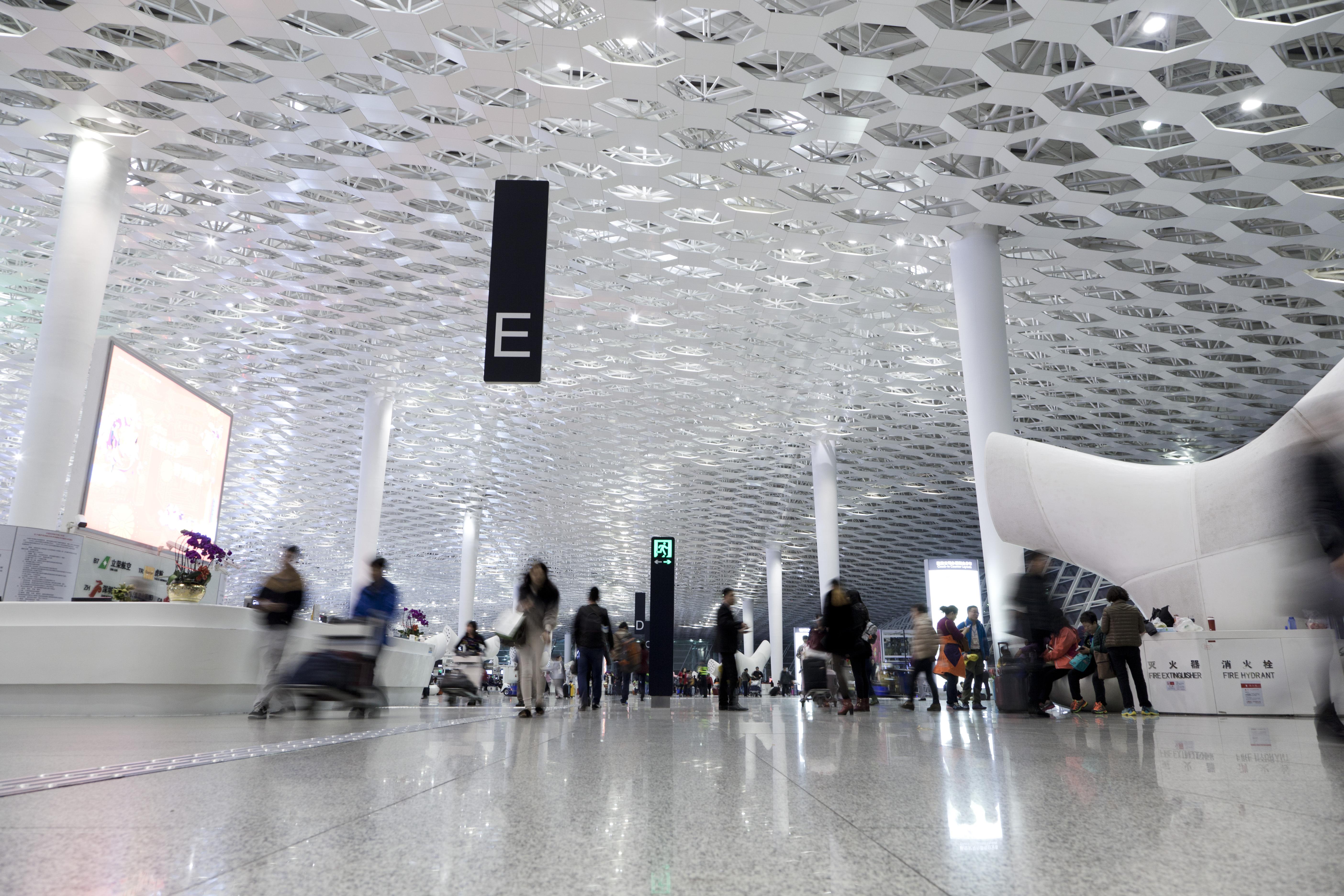 The Interior Of Shenzhen Baoan International Airport Shutterstock