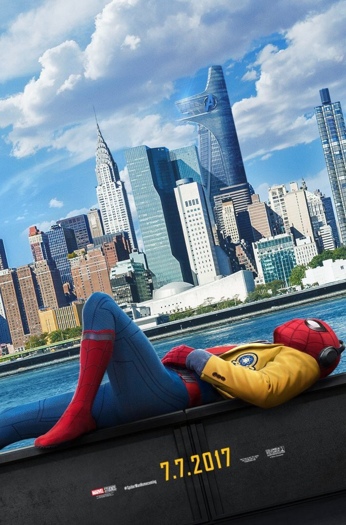 Image result for spiderman homecoming poster