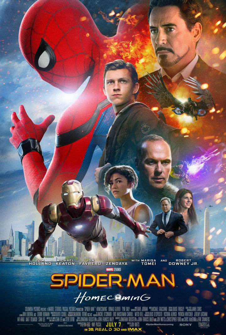 Image result for spider man homecoming poster