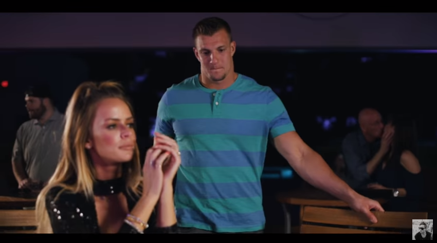 Gronk's cleavage-filled sushi dream of a music video is the purest distillation of Gronk yet