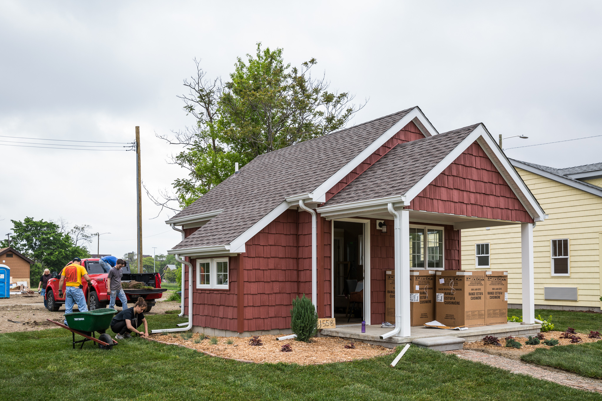 Images Of Homes a tiny home community rises in detroit - curbed detroit