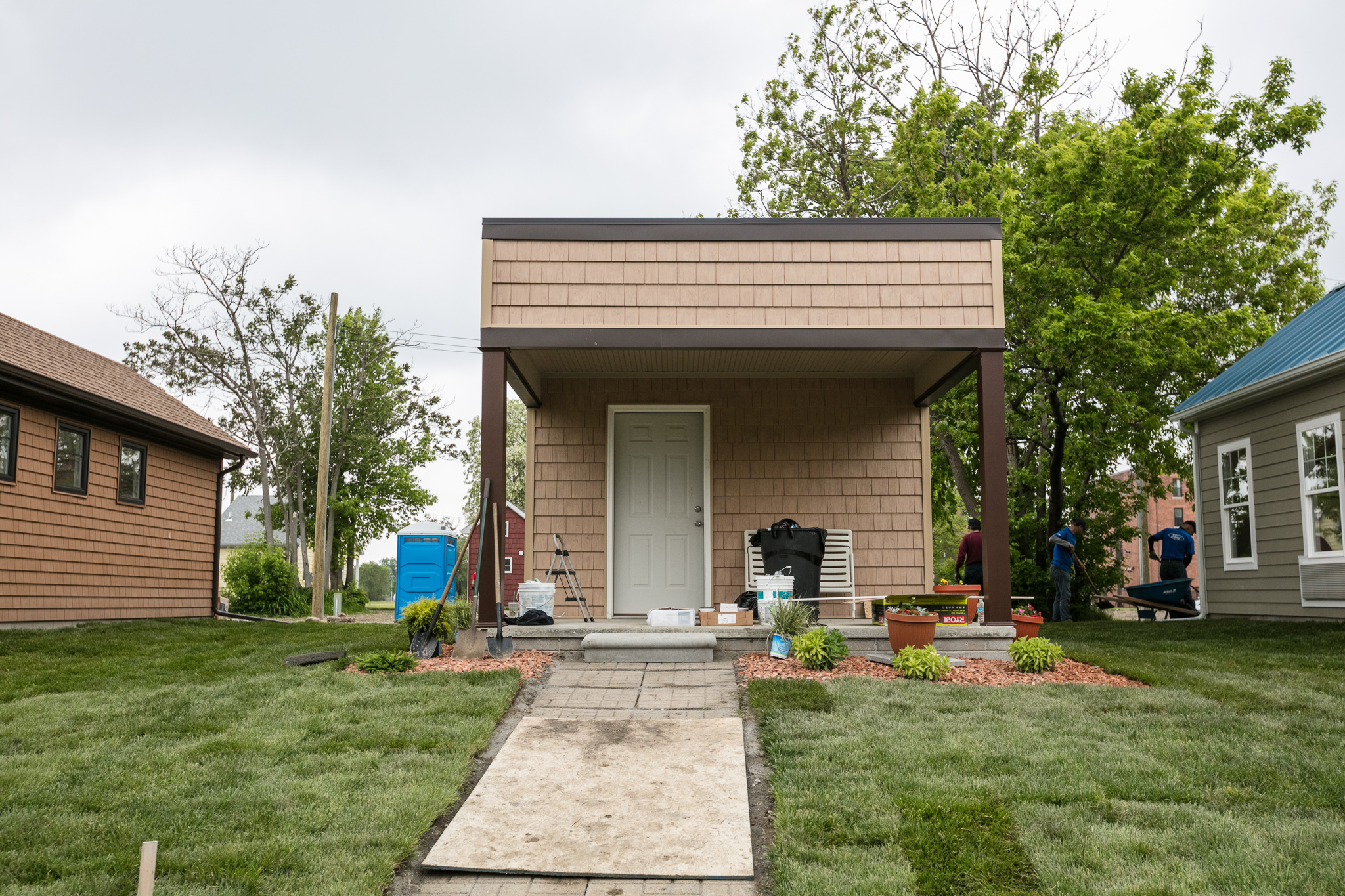 Photos Of Homes a tiny home community rises in detroit - curbed detroit