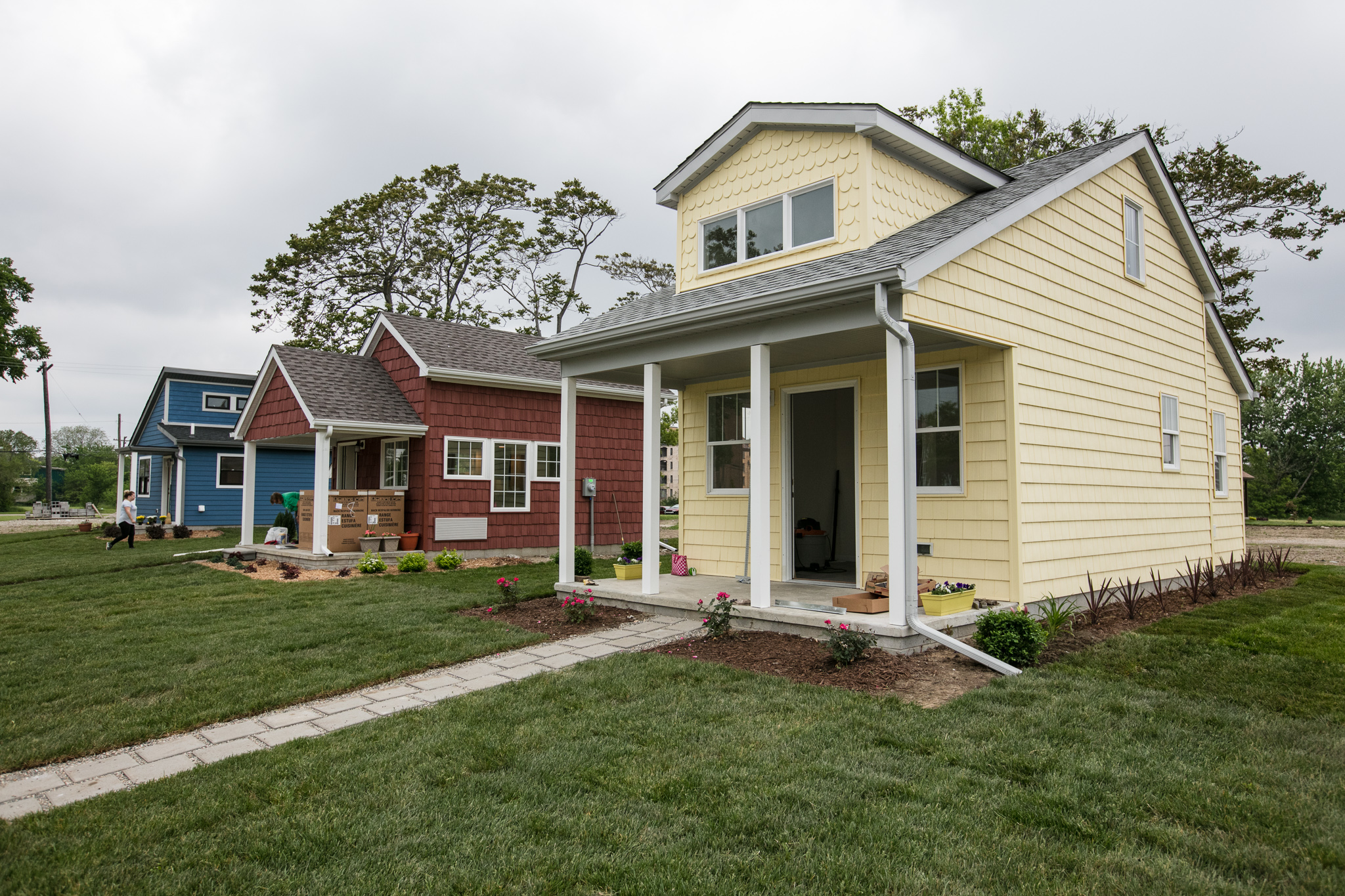 A tiny home community rises in detroit curbed detroit for Subdivision home designs