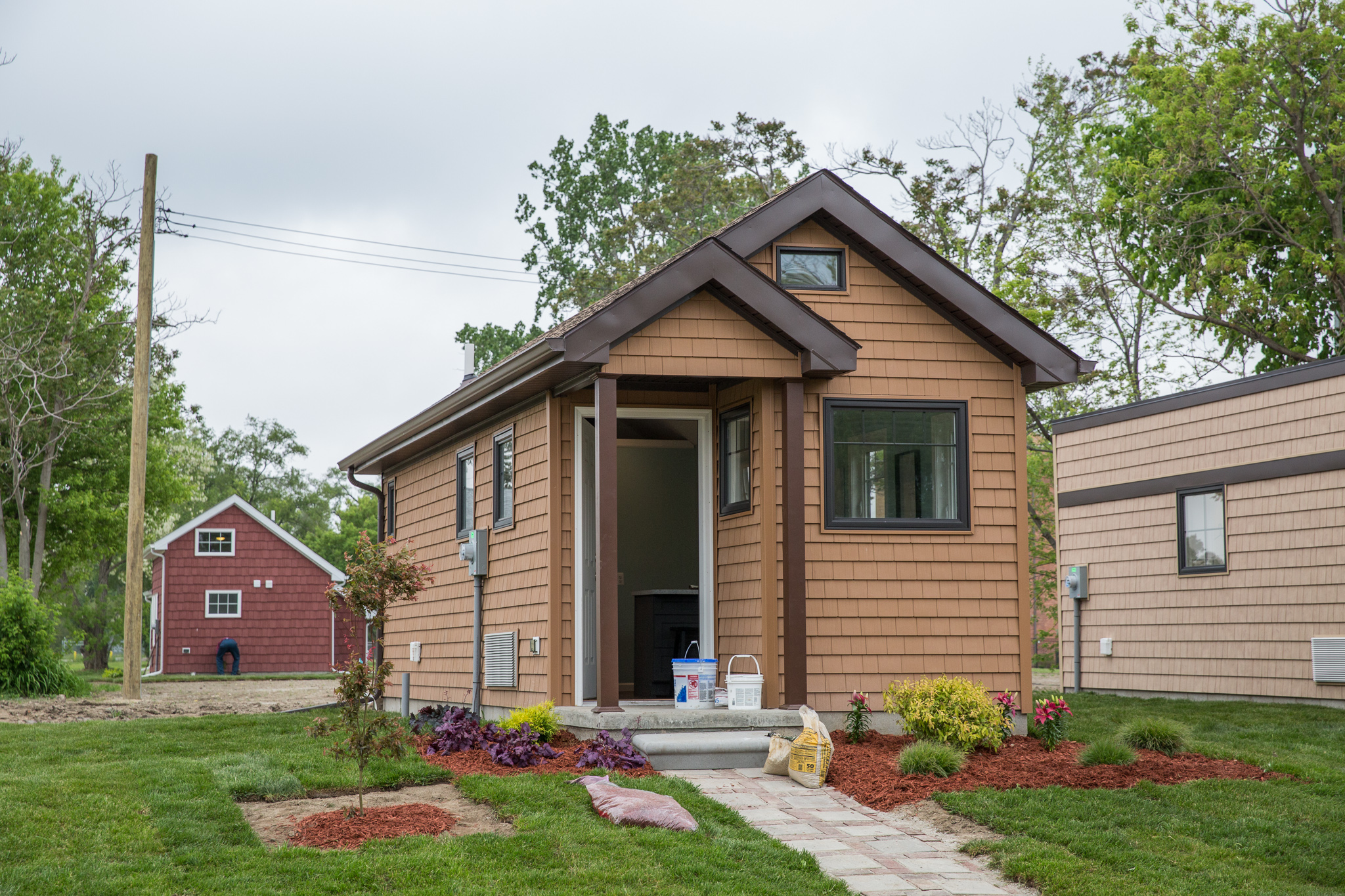 A tiny home community rises in detroit curbed detroit for 123 cabins