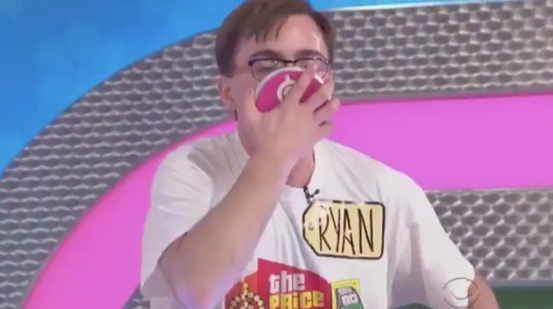 Guy breaks Plinko record on Price is Right, promptly looses his mind