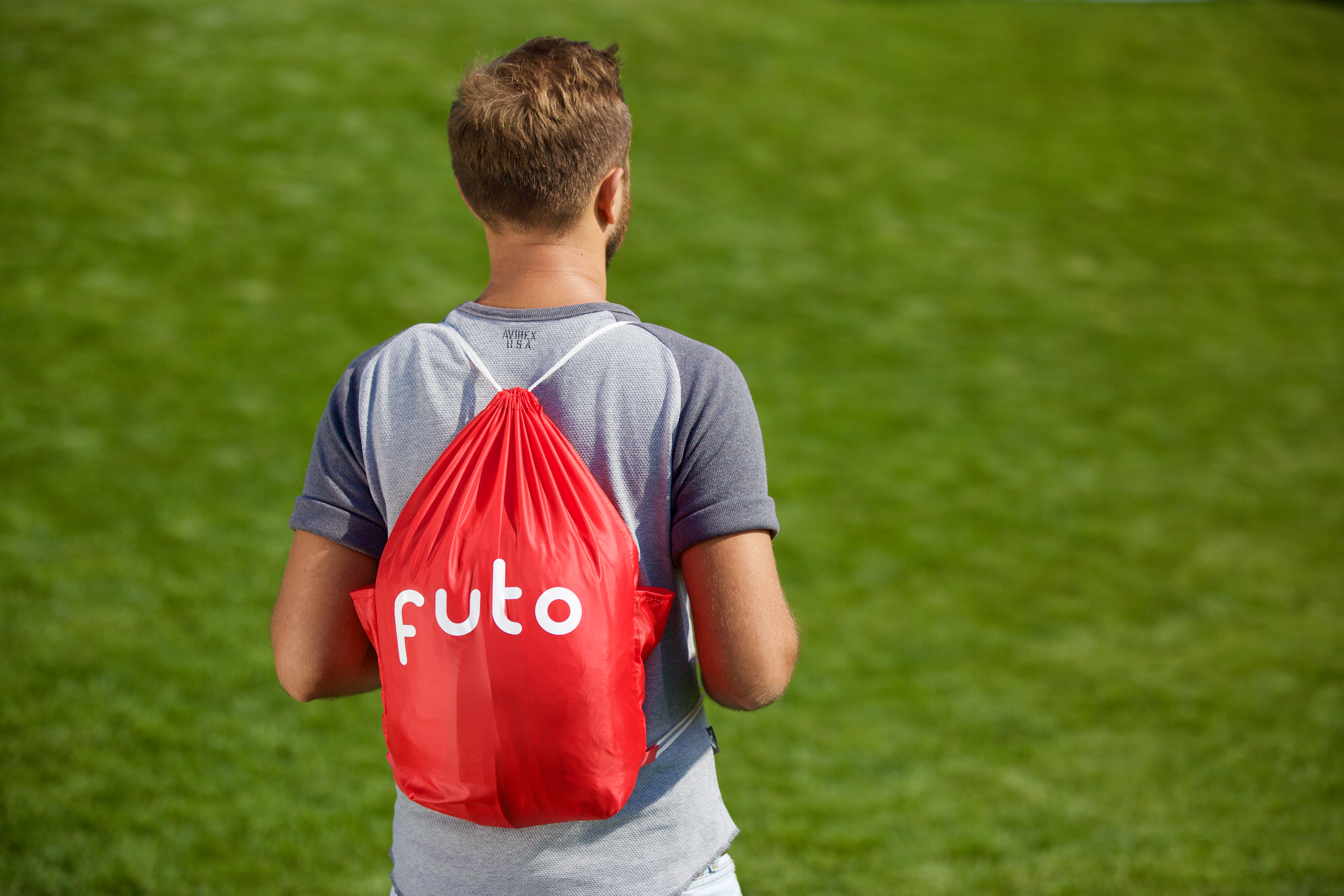 Futo mattress fits in a backpack and inflates in 20 seconds