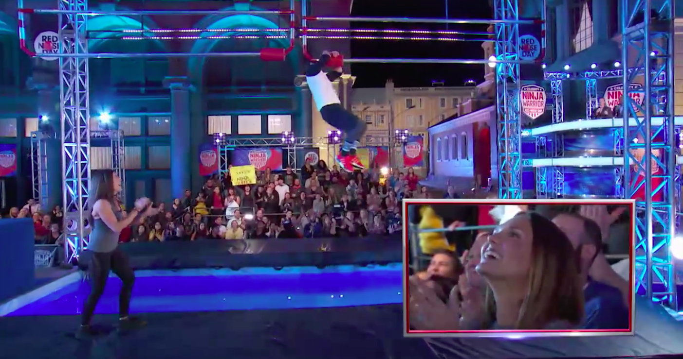 Stephen Amell S Full Celebrity Ninja Warrior Run