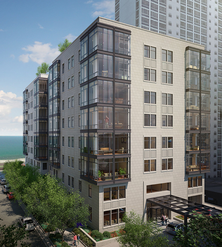 revised gold coast apartment proposal to get public debut curbed chicago. Black Bedroom Furniture Sets. Home Design Ideas