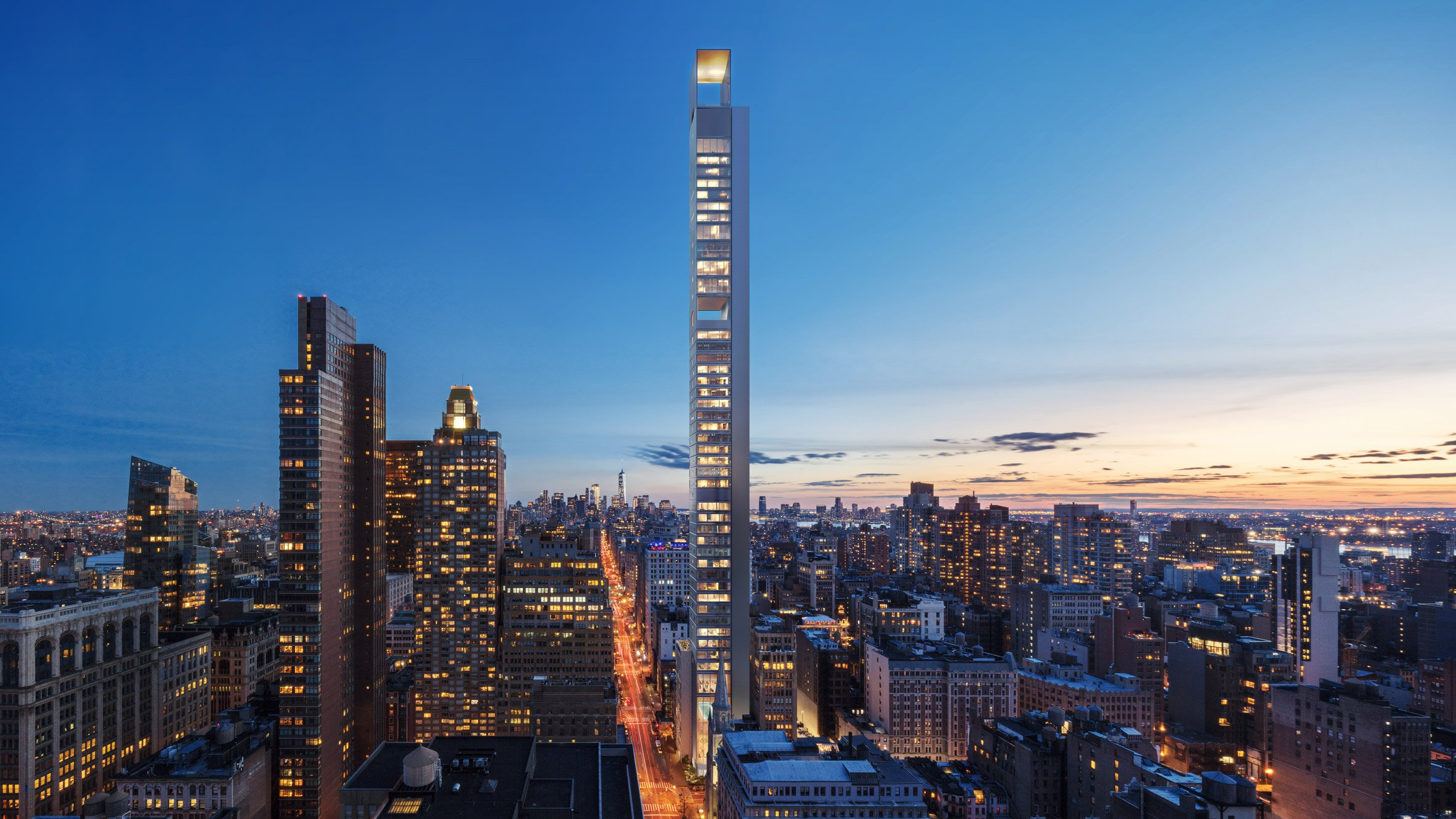New York S Newest Supertall Skyscraper Preps For Its 1 001