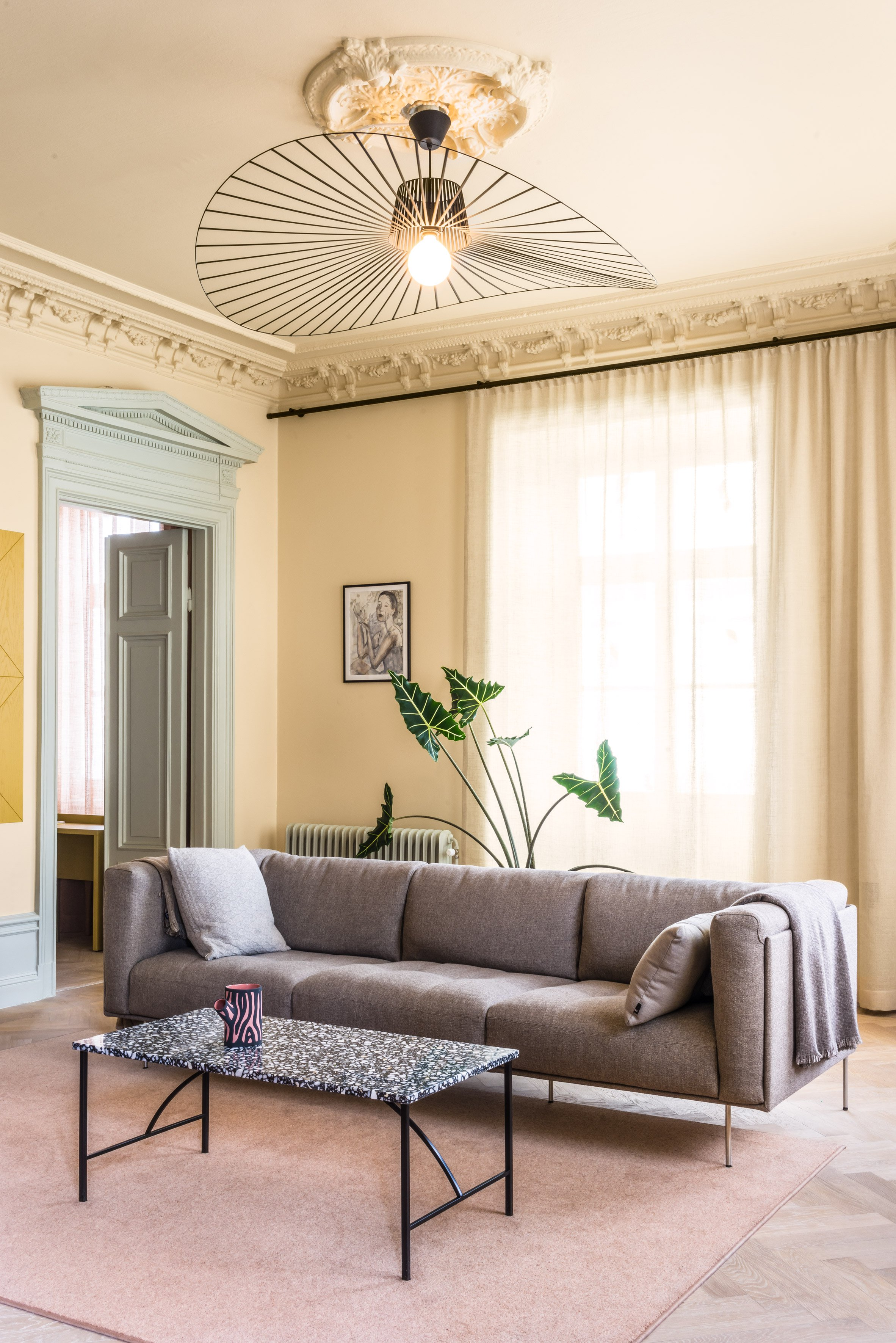 Dreamy pastels revamp a 19th century Stockholm home Curbed