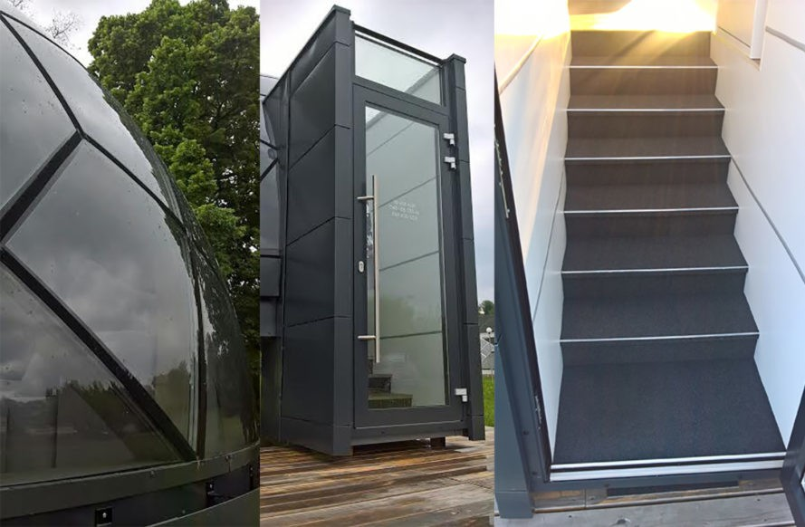 These Prefab Dome Homes Can Be Installed Just About