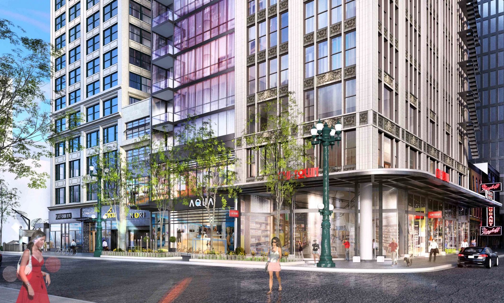 hundreds more apartments planned for the loop - curbed chicago