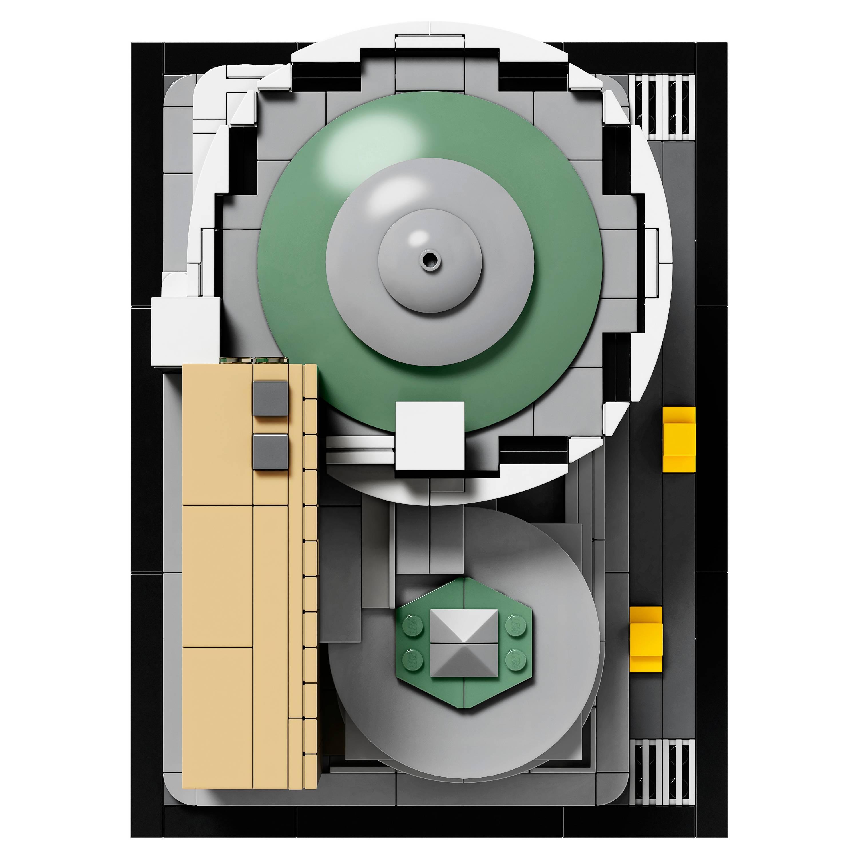 Frank Lloyd Wright's Guggenheim Museum gets the Lego treatment