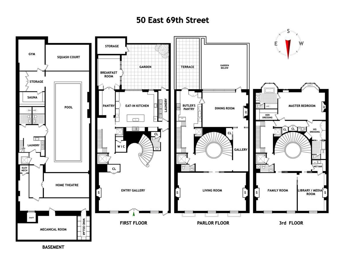 Lavish Upper East Side Mansion On Bankers Colony