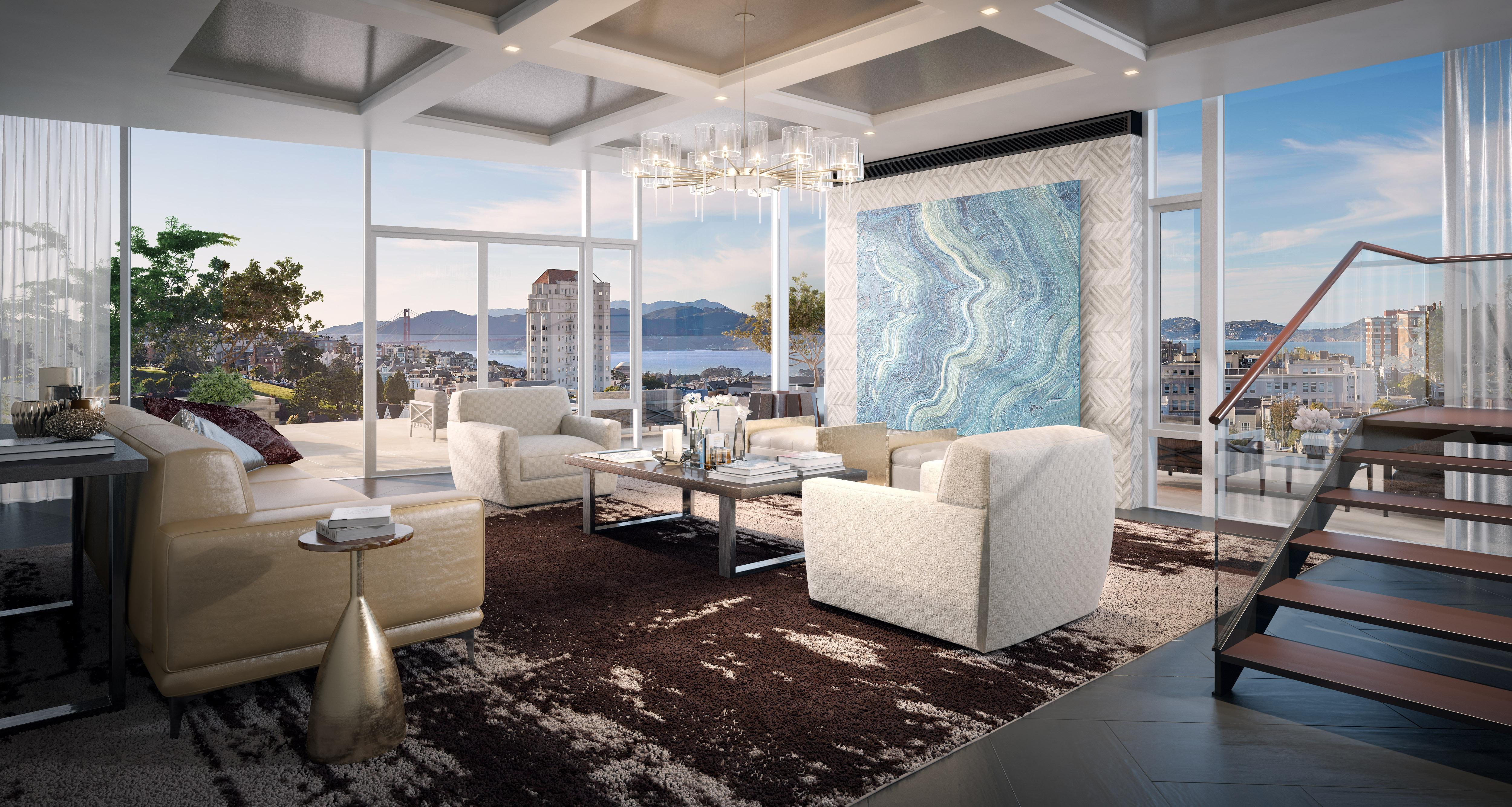 San francisco penthouse sells for 32 million update - Interior decorator san francisco ...