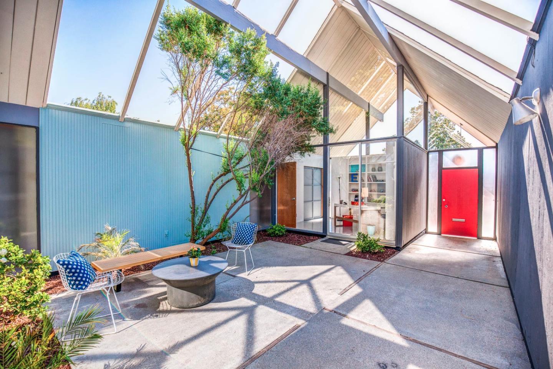 Sunnyvale Eichler With Double A Frame Atrium Asks