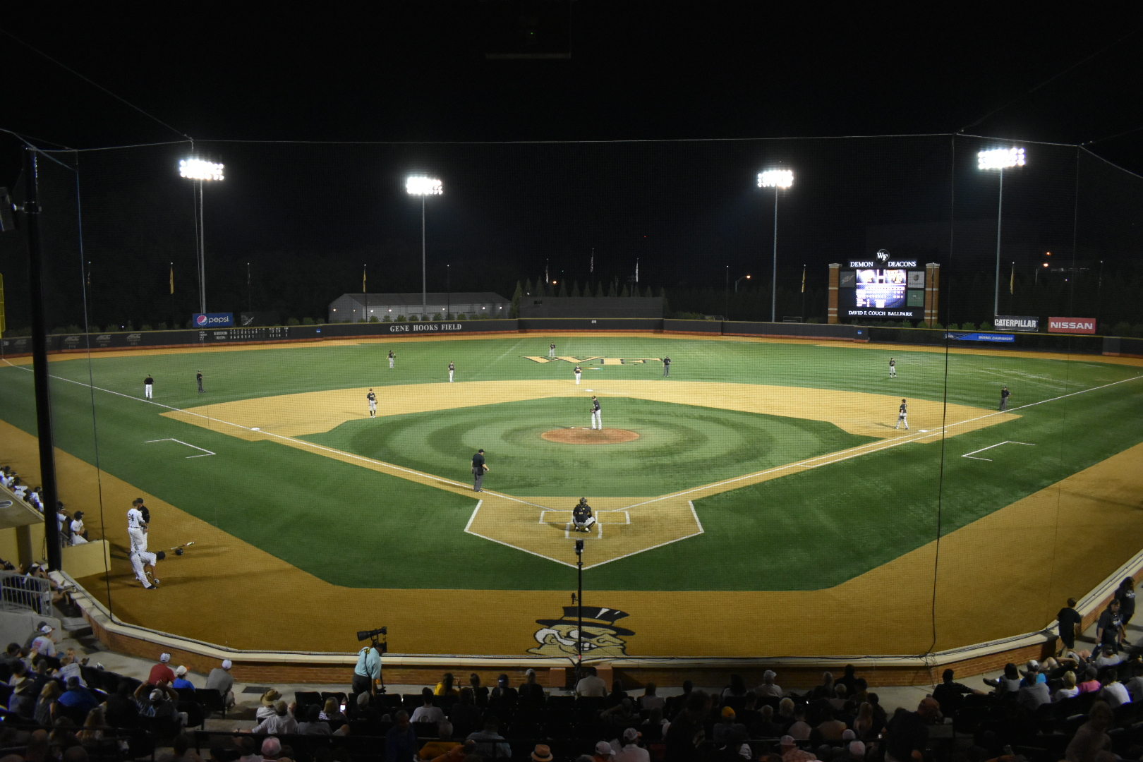 Wake Forest rallies past West Virginia 4-3 in NCAA tourney