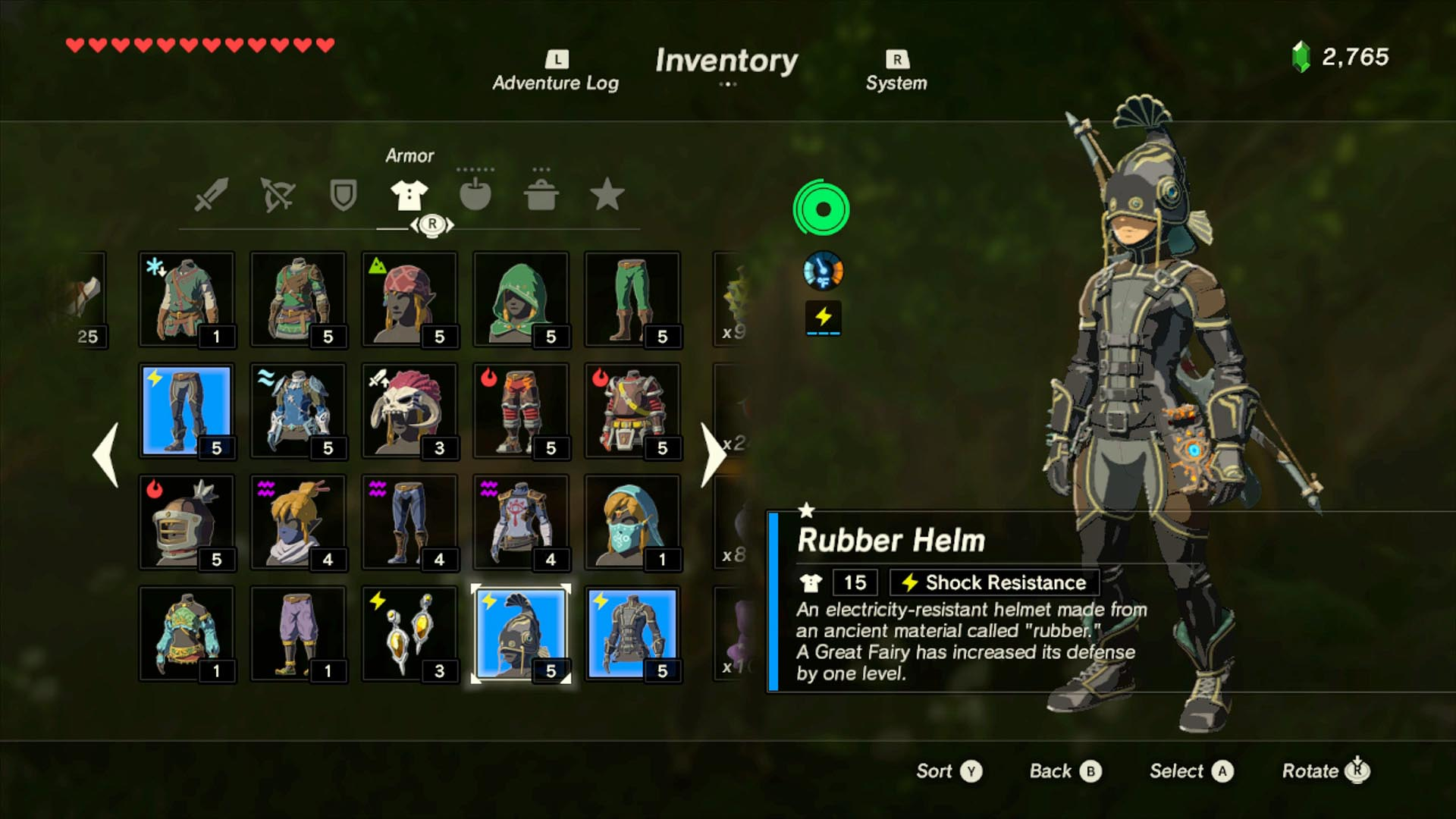 Zelda Breath Of The Wild Guide How To Get The Rubber