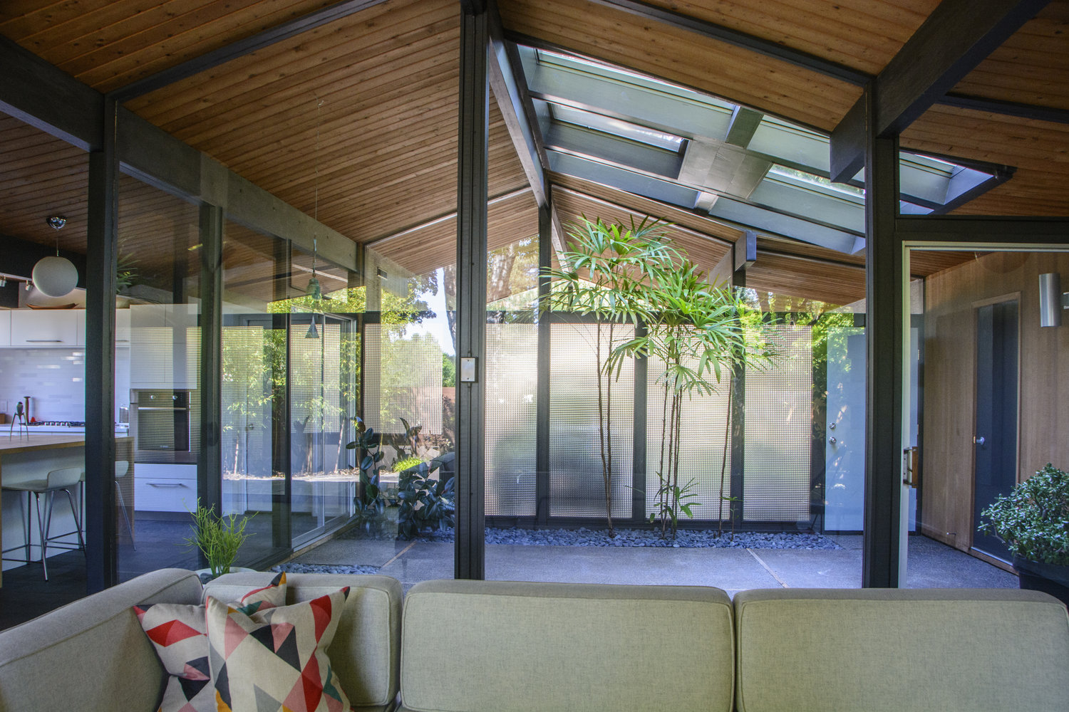 updated midcentury portland home with japanese gardens asks 699k