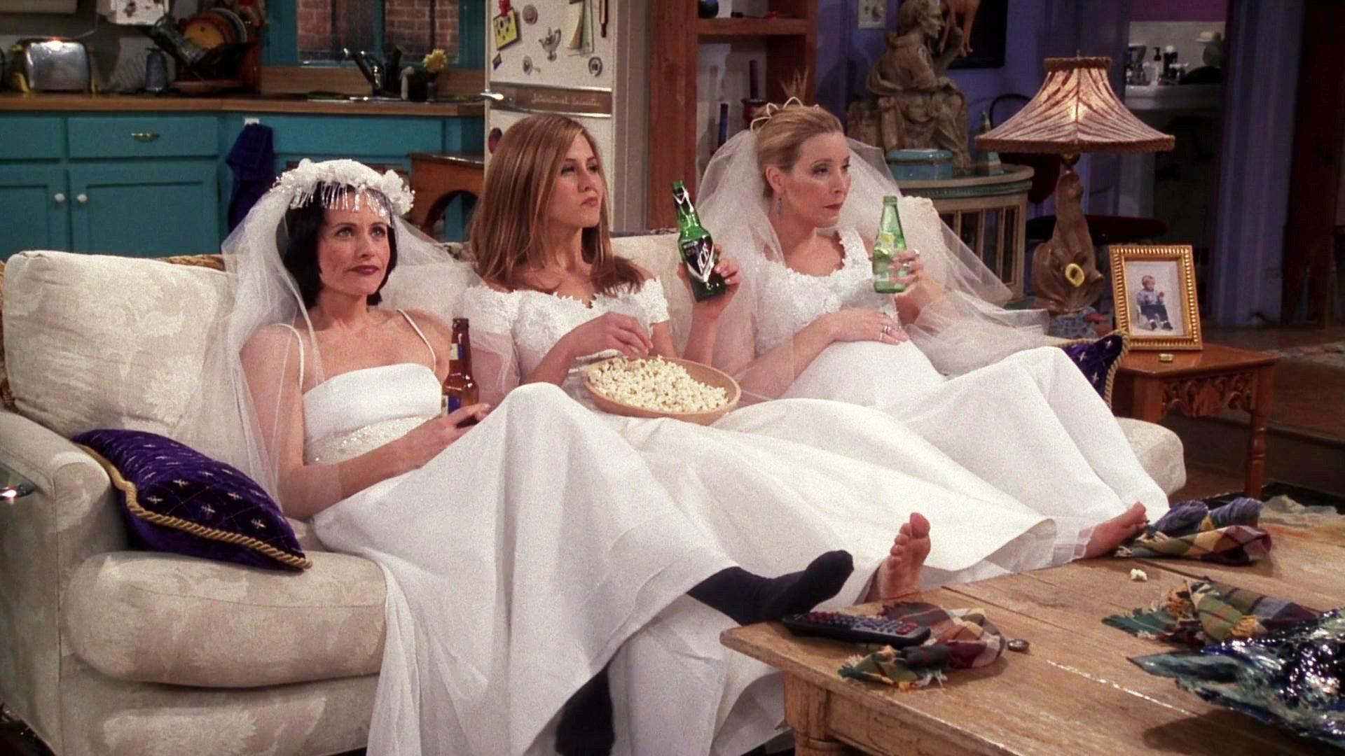 Friends\' Costume Designer Looks Back on 10 Seasons of Weddings ...