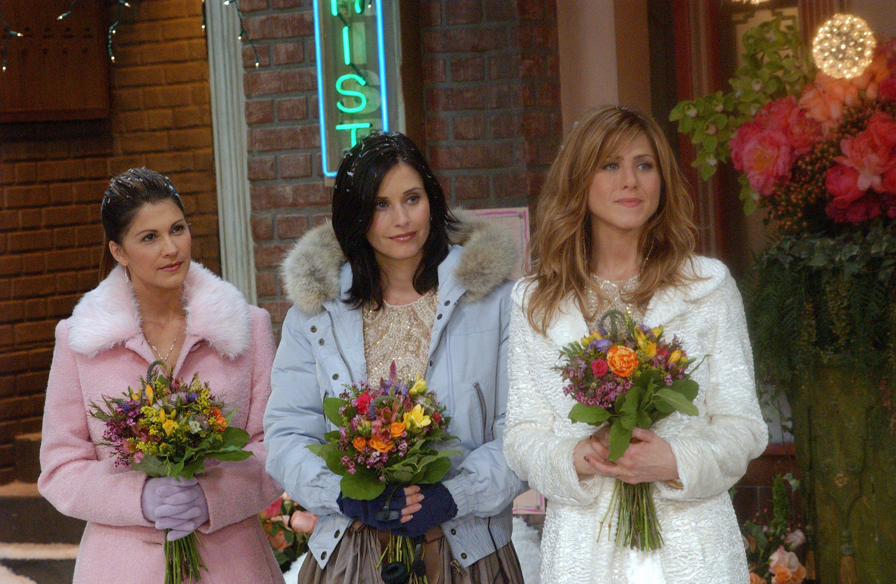 Friends Costume Designer Looks Back On 10 Seasons Of Weddings