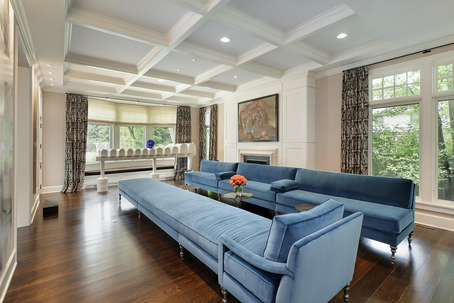 The Sprawling Mansion Features Luxury Amenities Such As A Theater Room An Indoor Basketball Court And Spa
