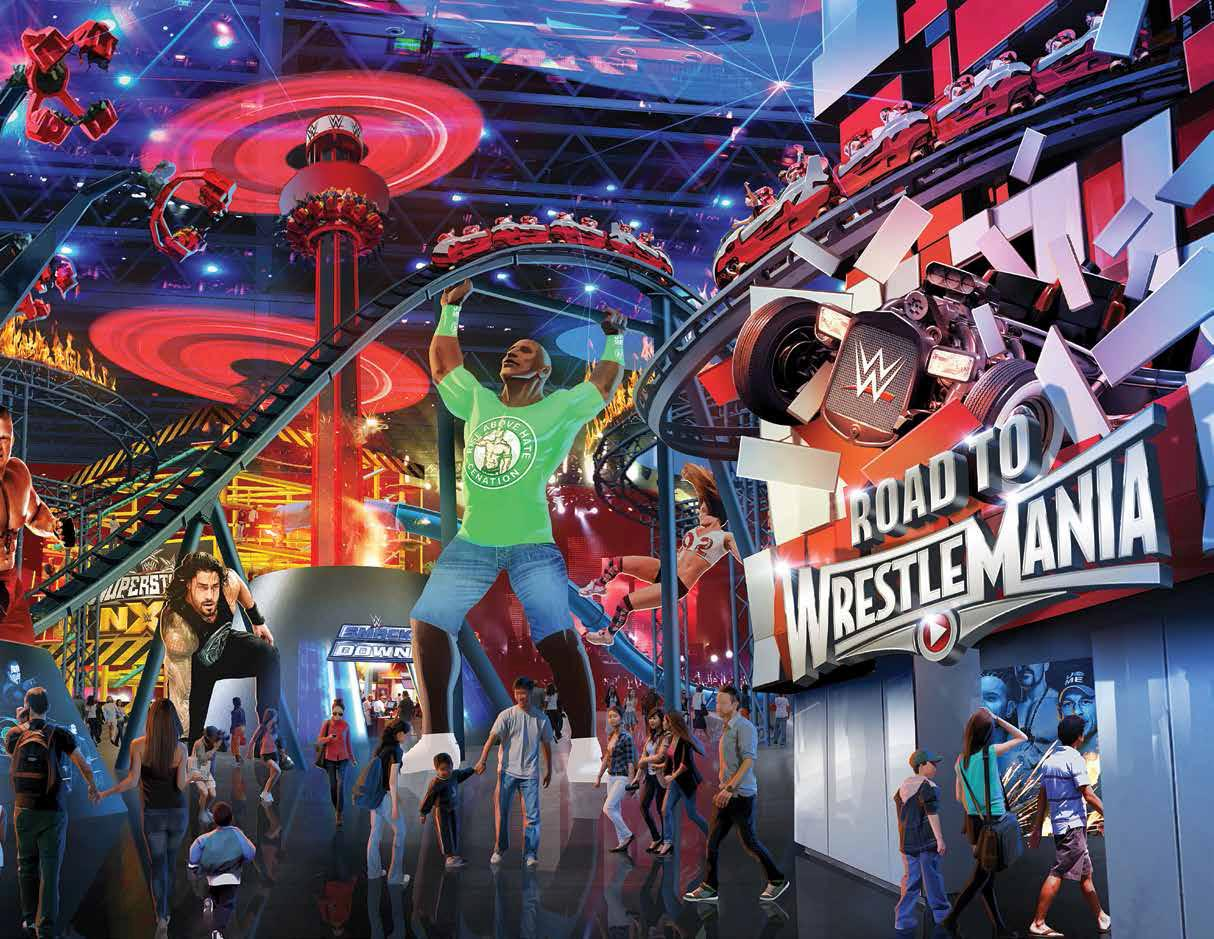 WWE Looking To Create Theme Park Attractions