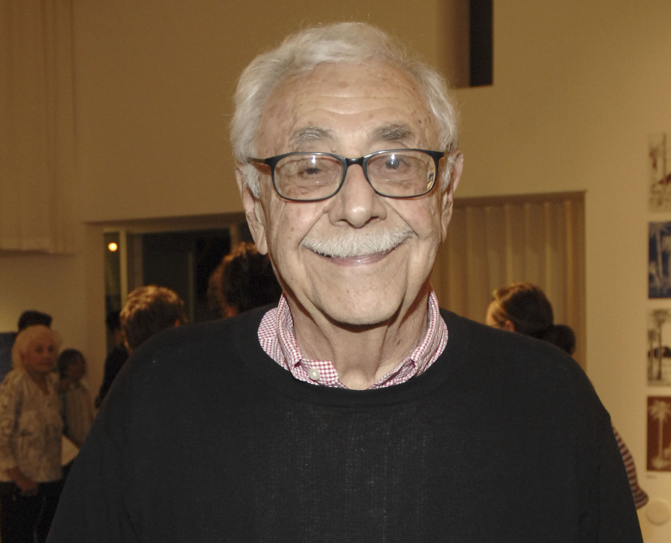 William Krisel at an event