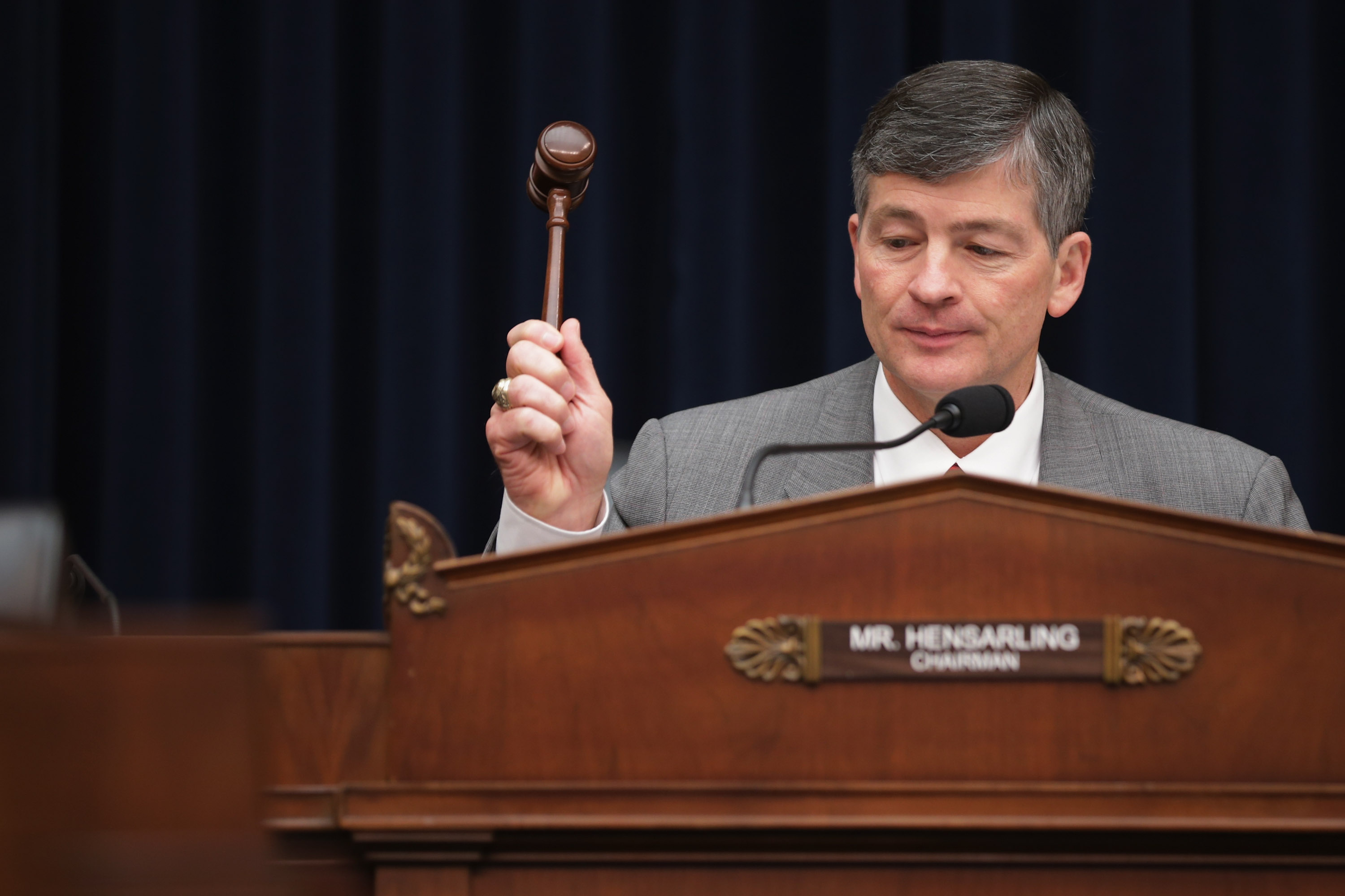 House Financial Services Committee Chairman Jeb Hensarling (R-TX)has championed the CHOICE Act.