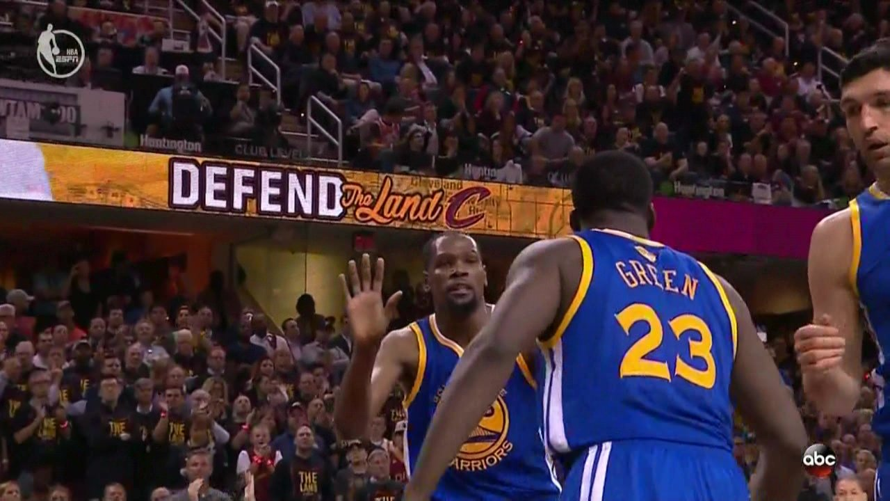 Draymond Green calls Cavs fans 'rude' after mother deals with hecklers""