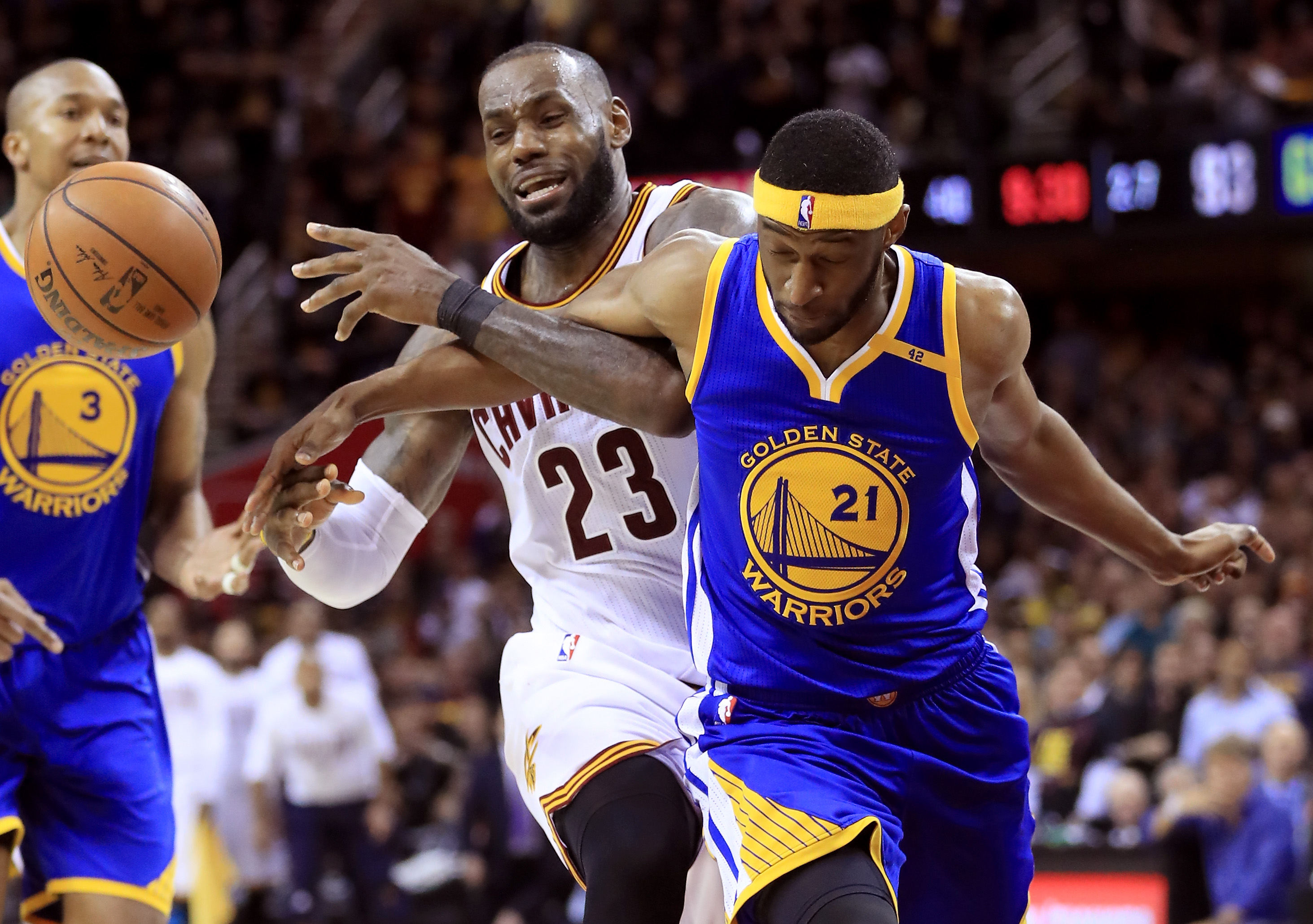 Golden State one win from title