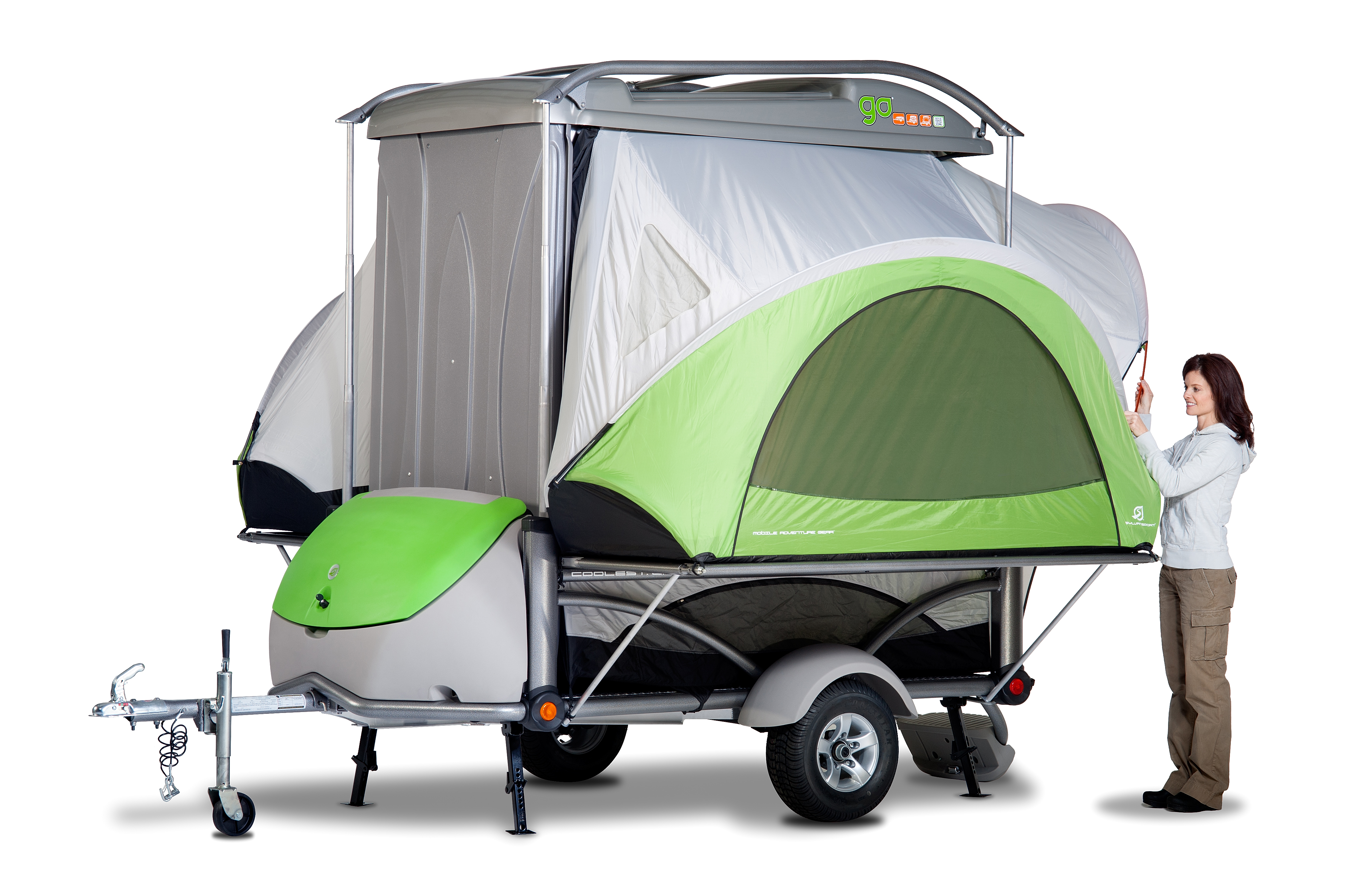 Sylvansport Go Camper Hauls Gear And Easily Sleeps Four