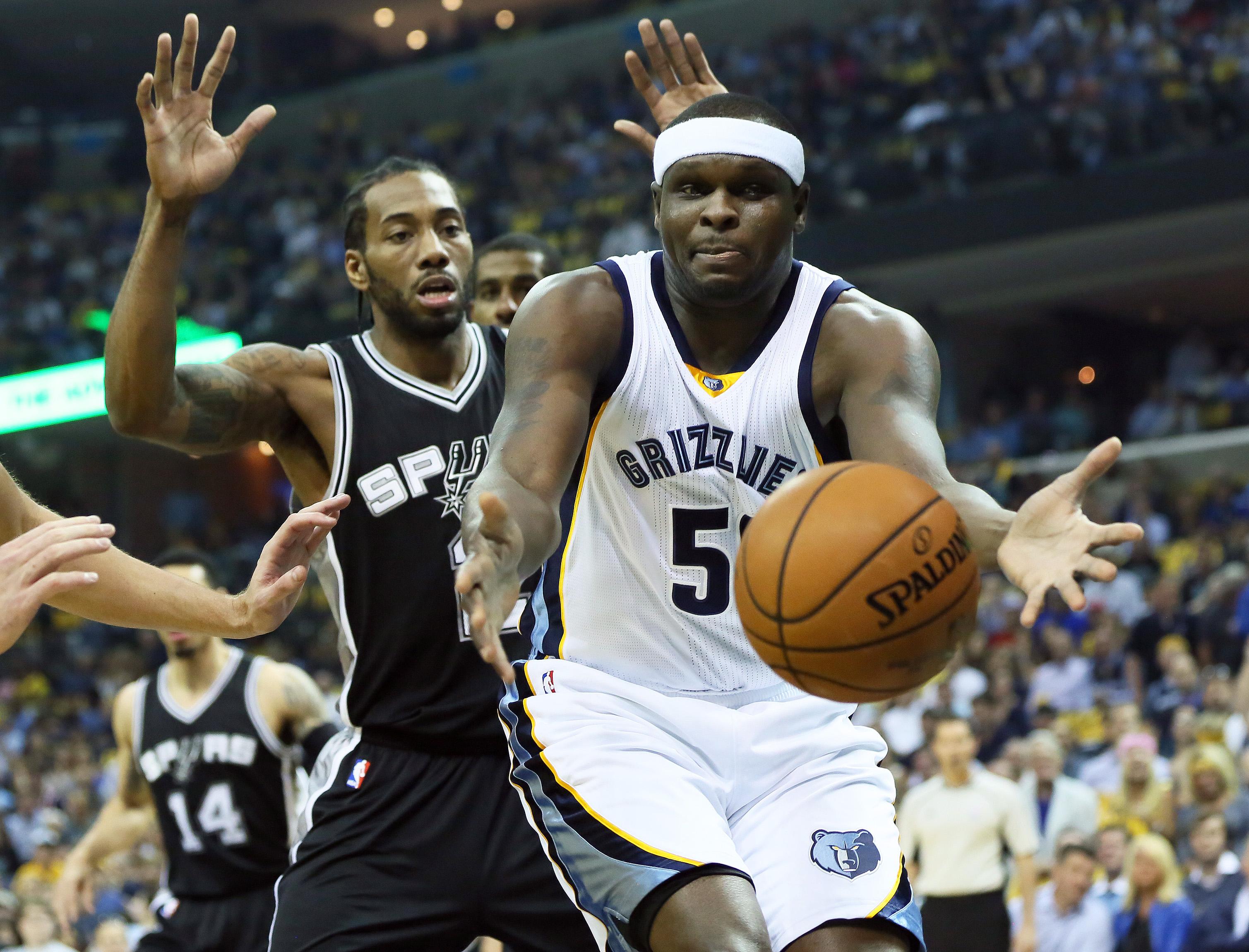 Zach randolph memphis grizzlies - Nba Playoffs San Antonio Spurs At Memphis Grizzlies