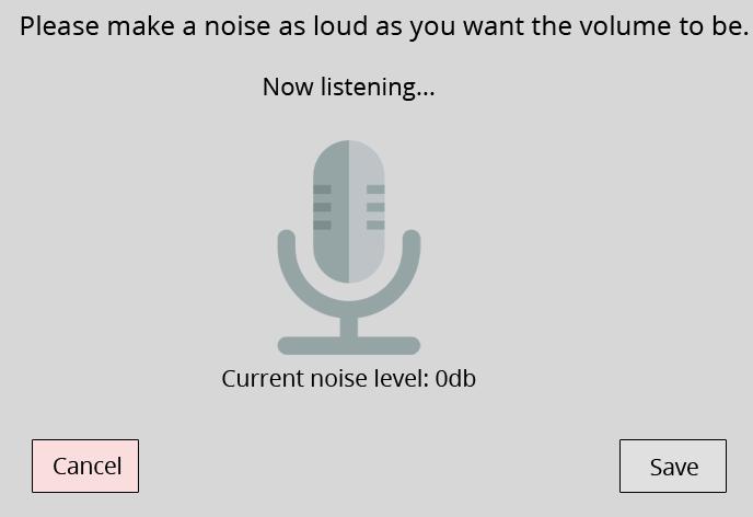 Volume control GIF