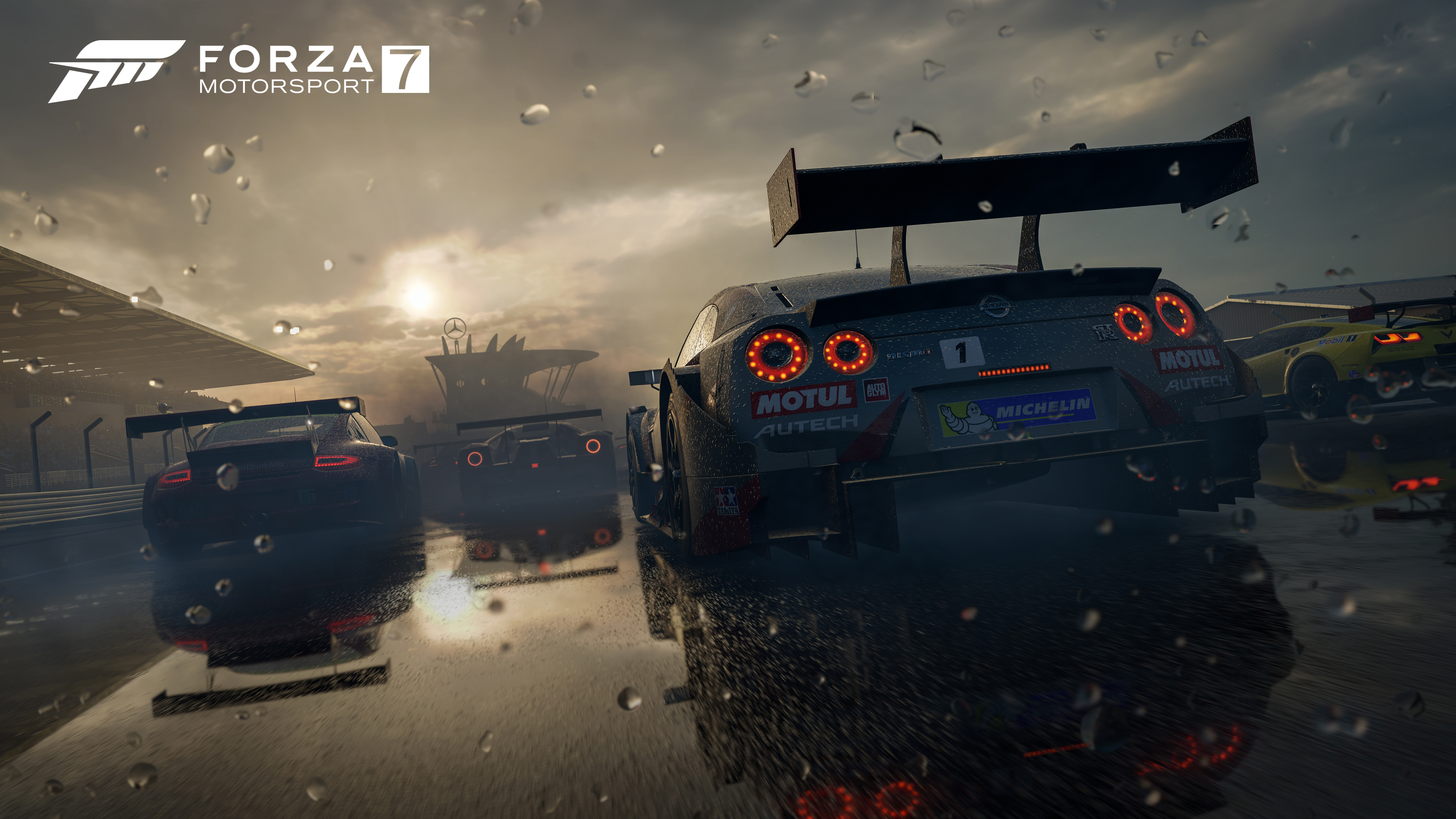 Forza Motorsport 7 is getting a new car pack tomorrow sponsored by Samsung QLED TV 1