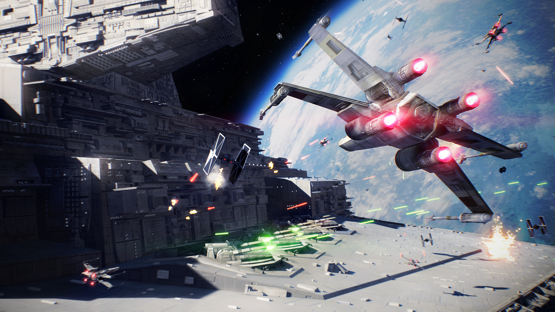 Star Wars Battlefront 2 - X-wing assault