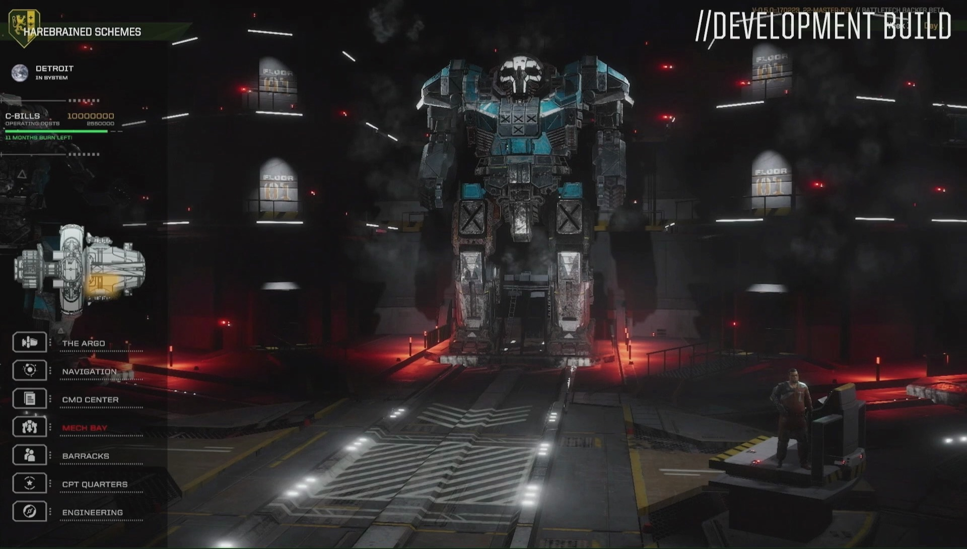 battletech how to add a mech to mech bay